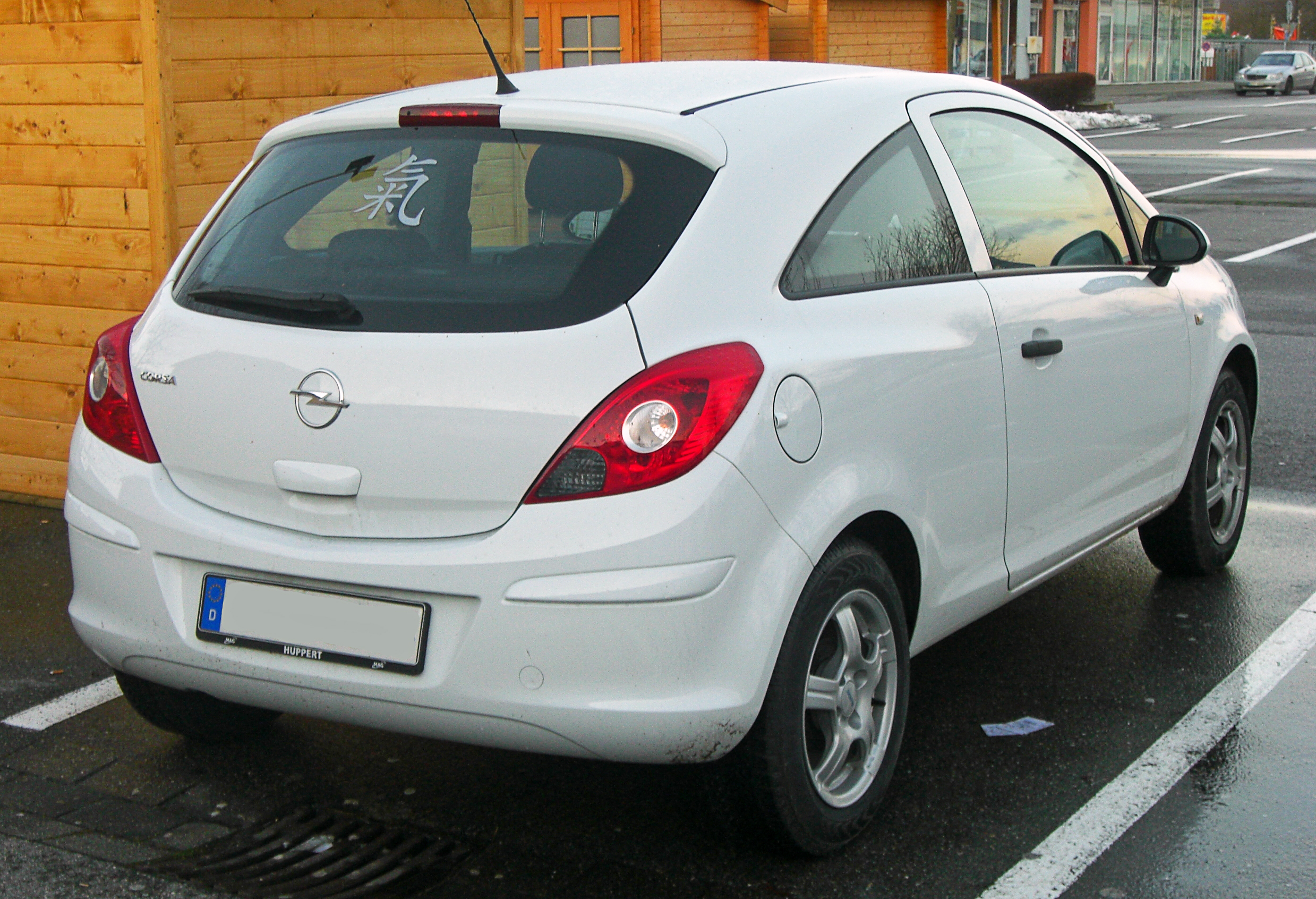 file opel corsa d seit 2006 rear mj jpg wikimedia commons. Black Bedroom Furniture Sets. Home Design Ideas