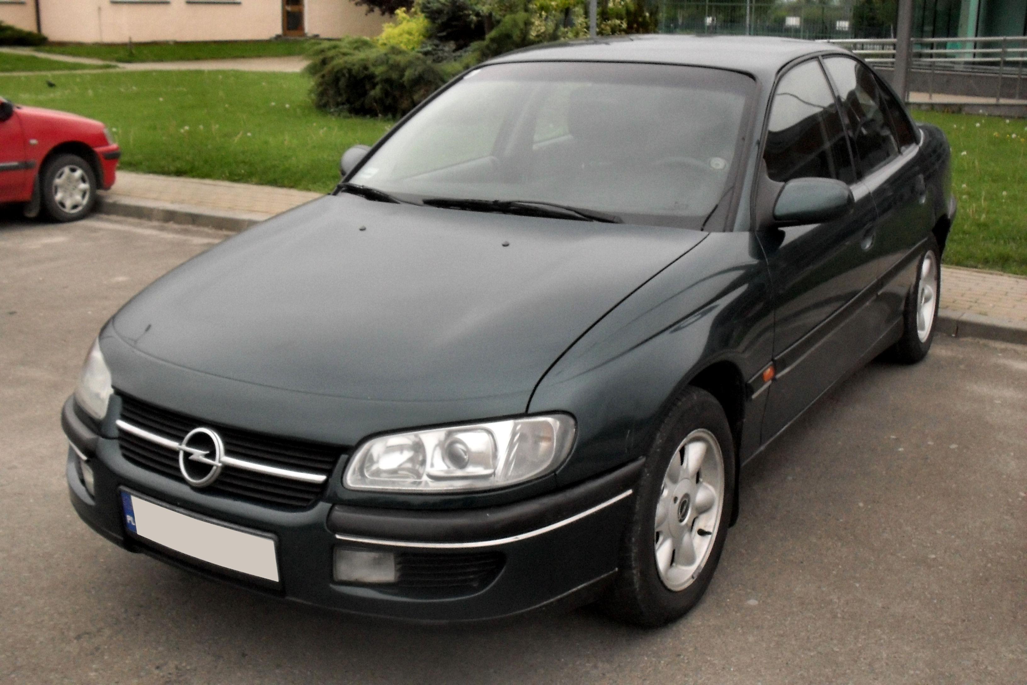 Modish Opel Omega B - Wikipedia, den frie encyklopædi LT-41