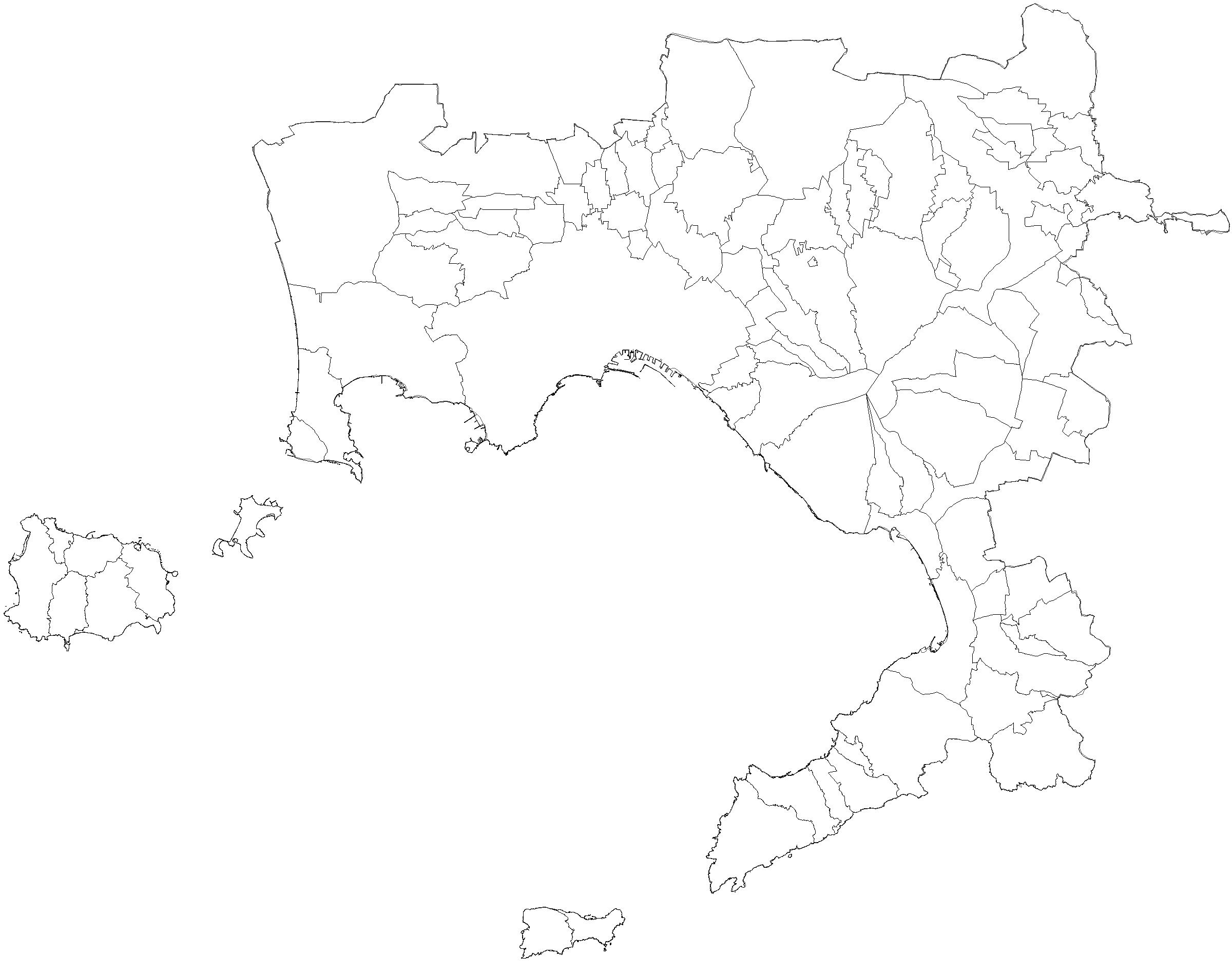 Provincia Di Napoli Cartina.File Provincia Di Napoli Png Wikimedia Commons