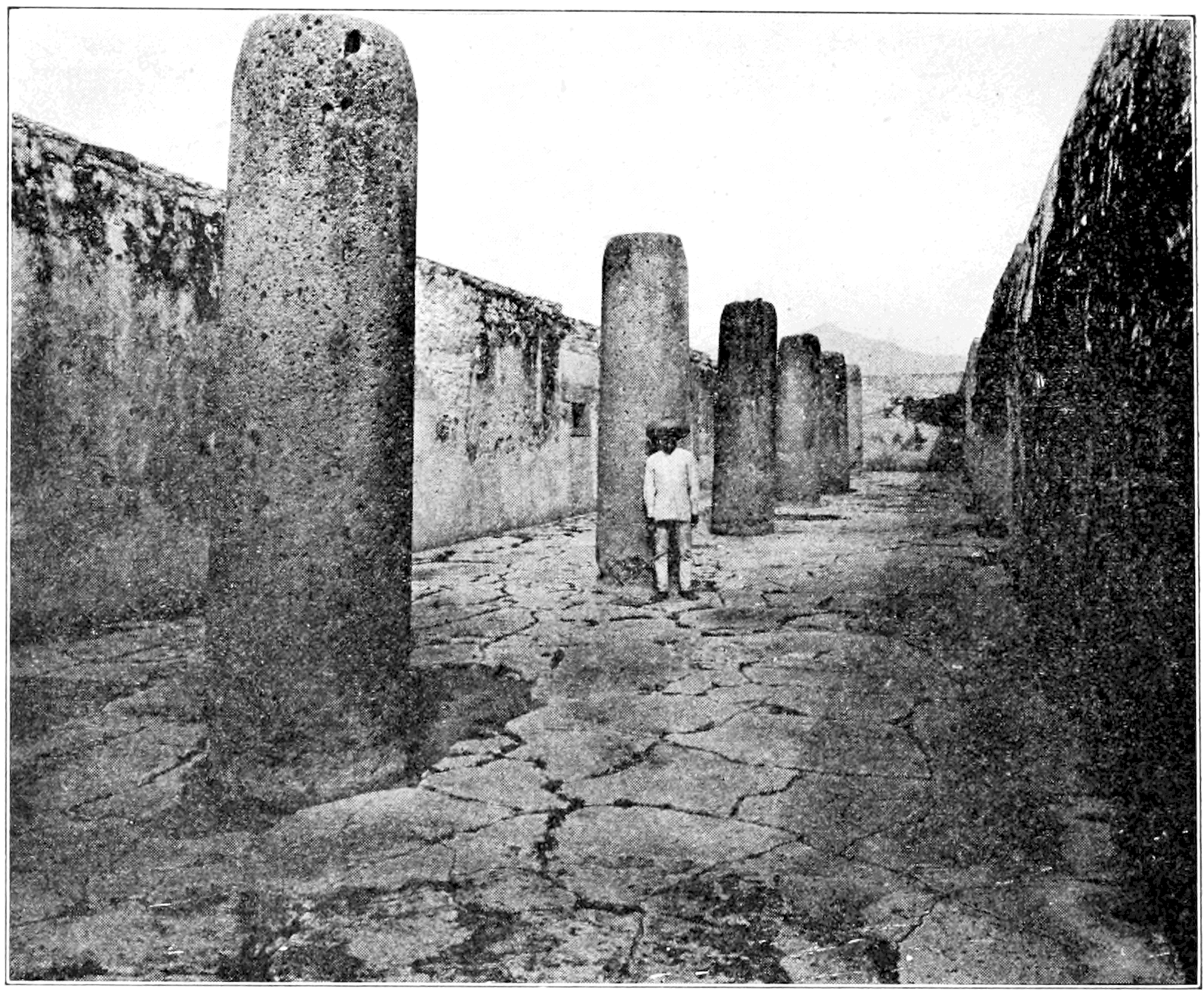 PSM V73 D402 Hall of monoliths on monte alban.png