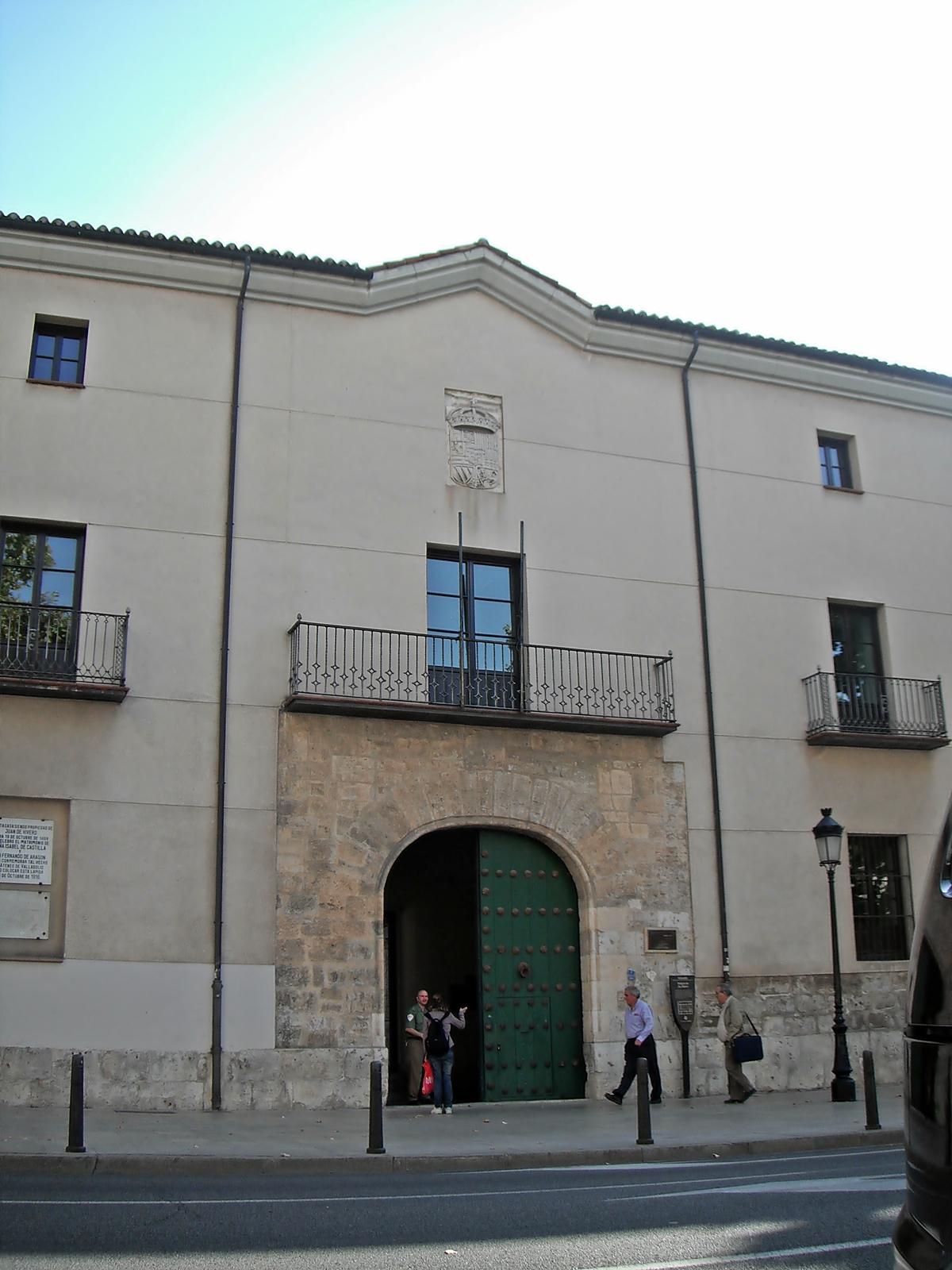 Archivo hist rico provincial de valladolid wikipedia la for Viveros valladolid