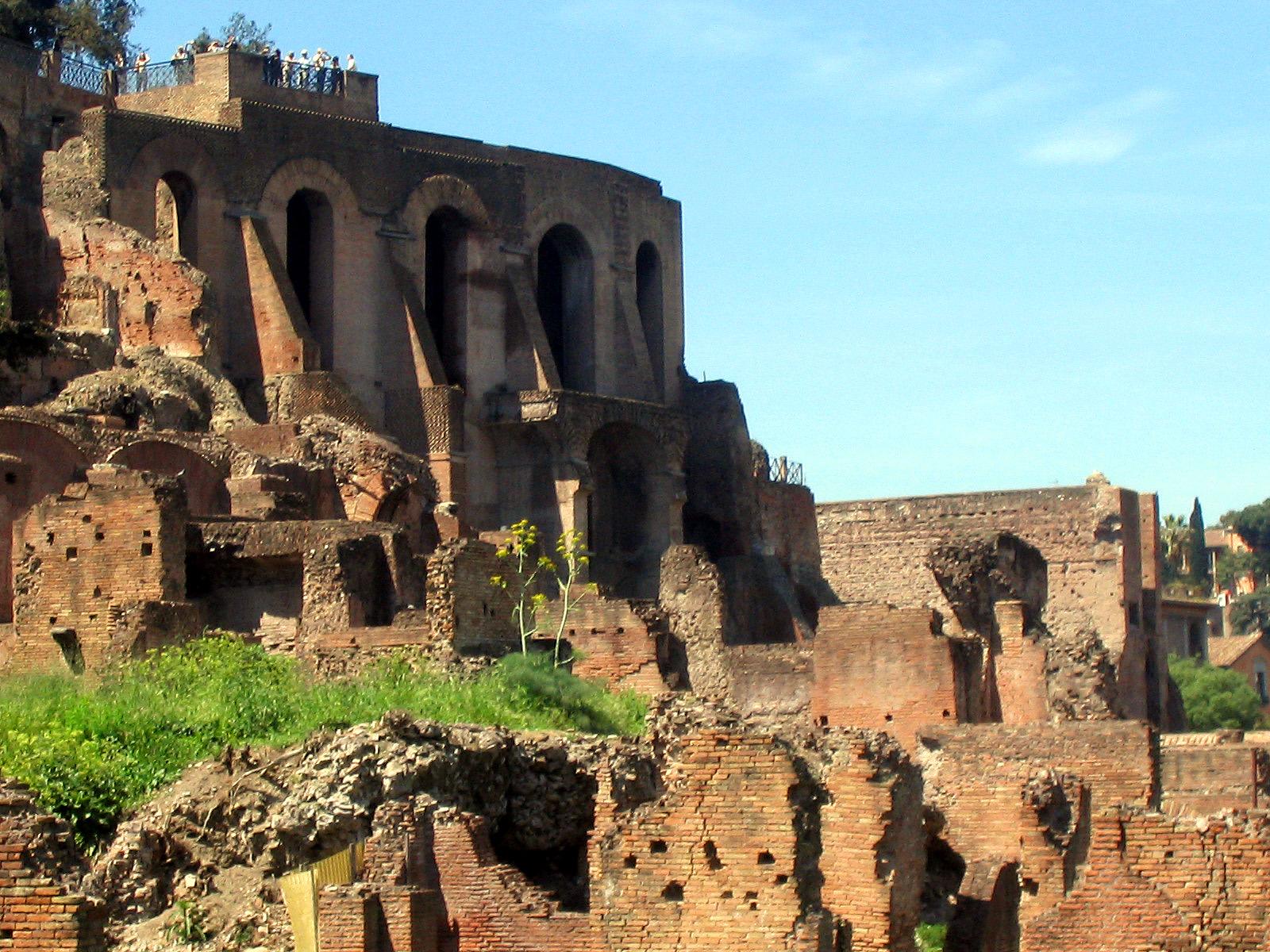 Palatino - Visita Roma