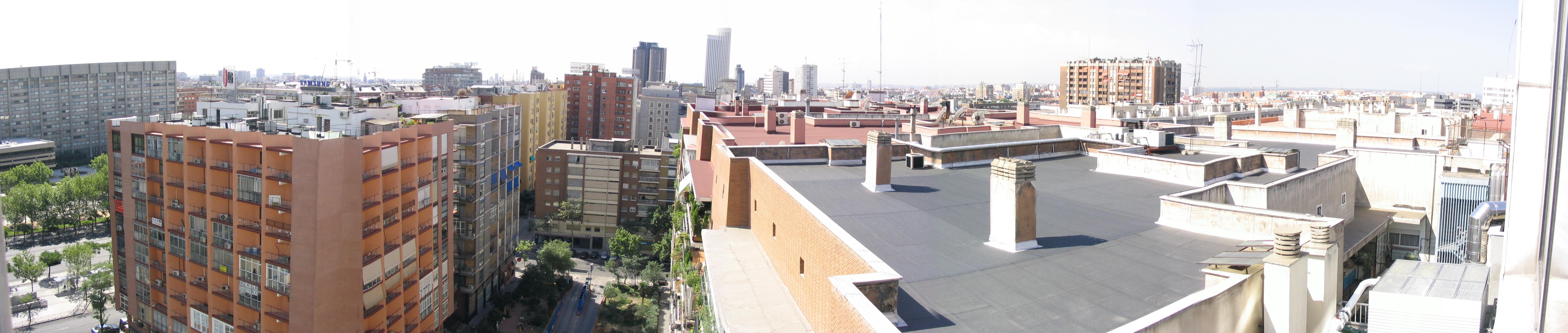 File Panor Mica De Madrid Desde El Hotel Cuzco