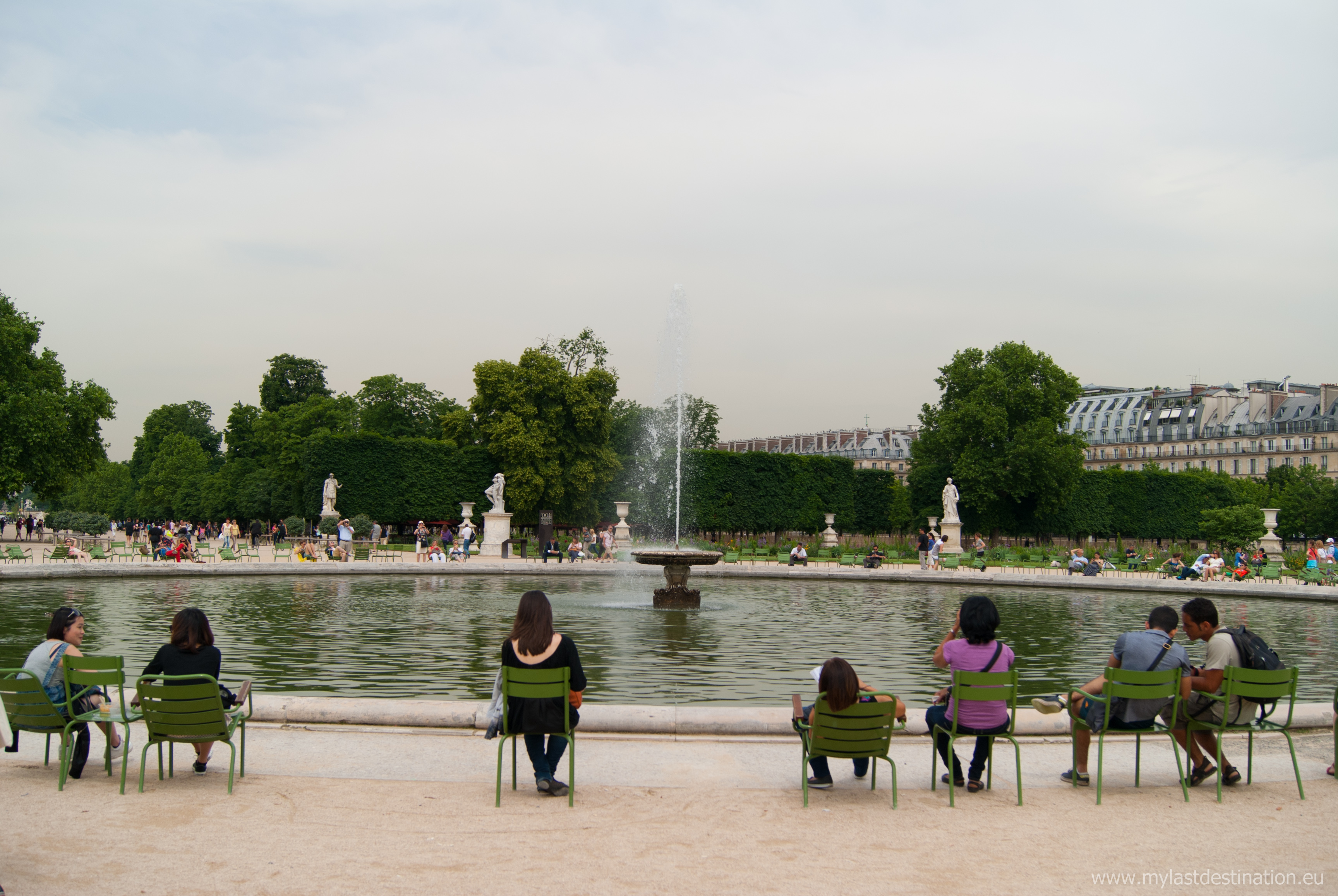File paris 75001 jardin des tuileries grand bassin rond - Sculpture jardin des tuileries ...