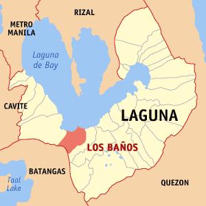 Los Baños, Laguna Municipality in Calabarzon, Philippines