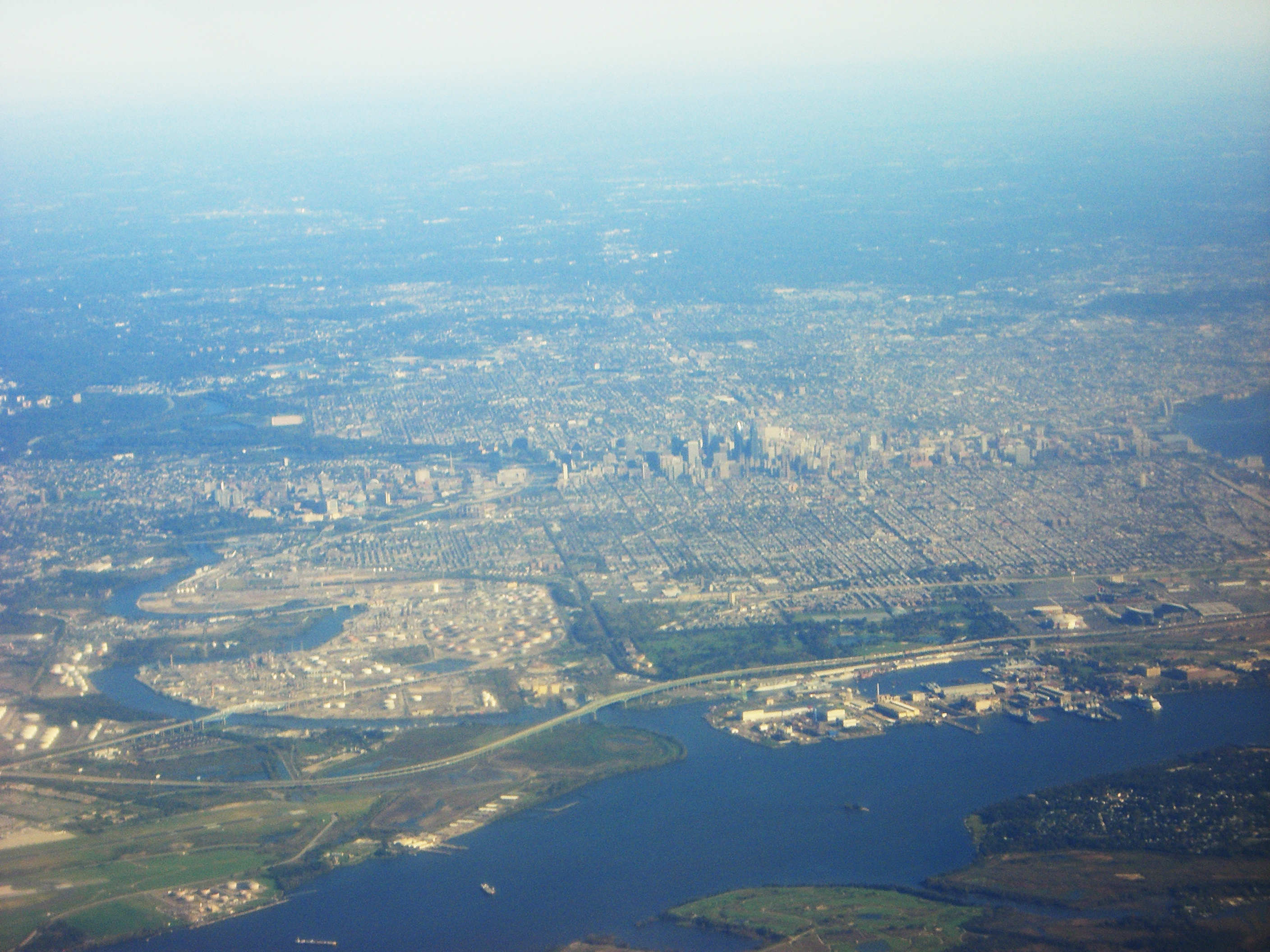 File:Philadelphia aerial view.jpg - Wikimedia Commons