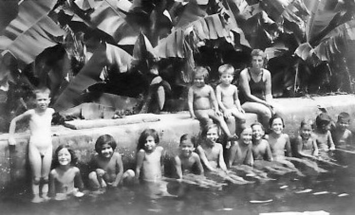 גן-שמואל-ילדים ראשונים 1937-40