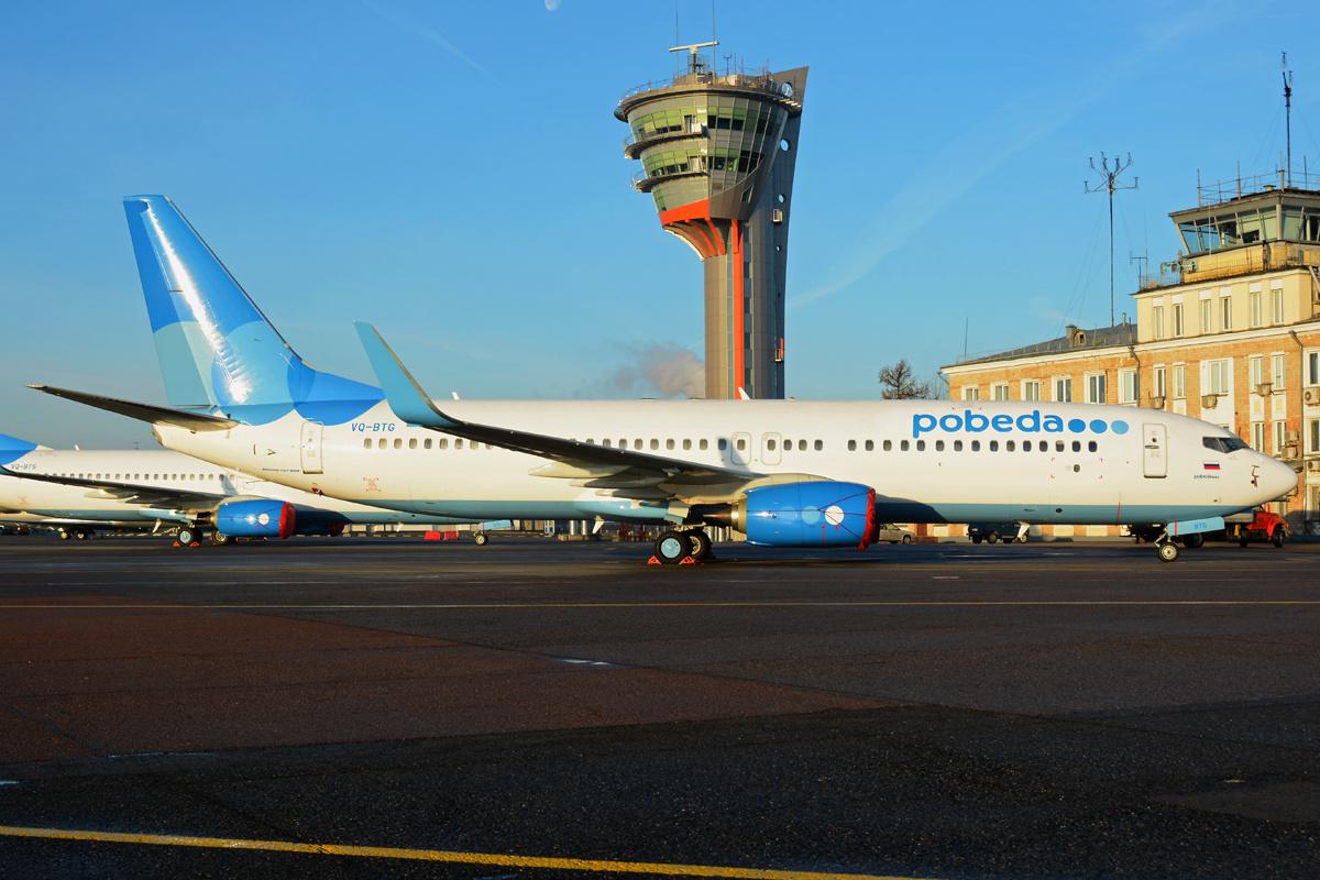 Boeing 737-800 der Pobeda