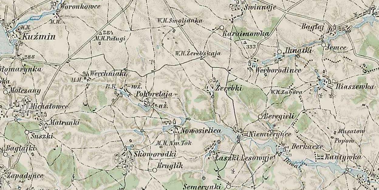 File Pohoryla Wyzsza Mapa Wojskowa Austro Wegier Mapa
