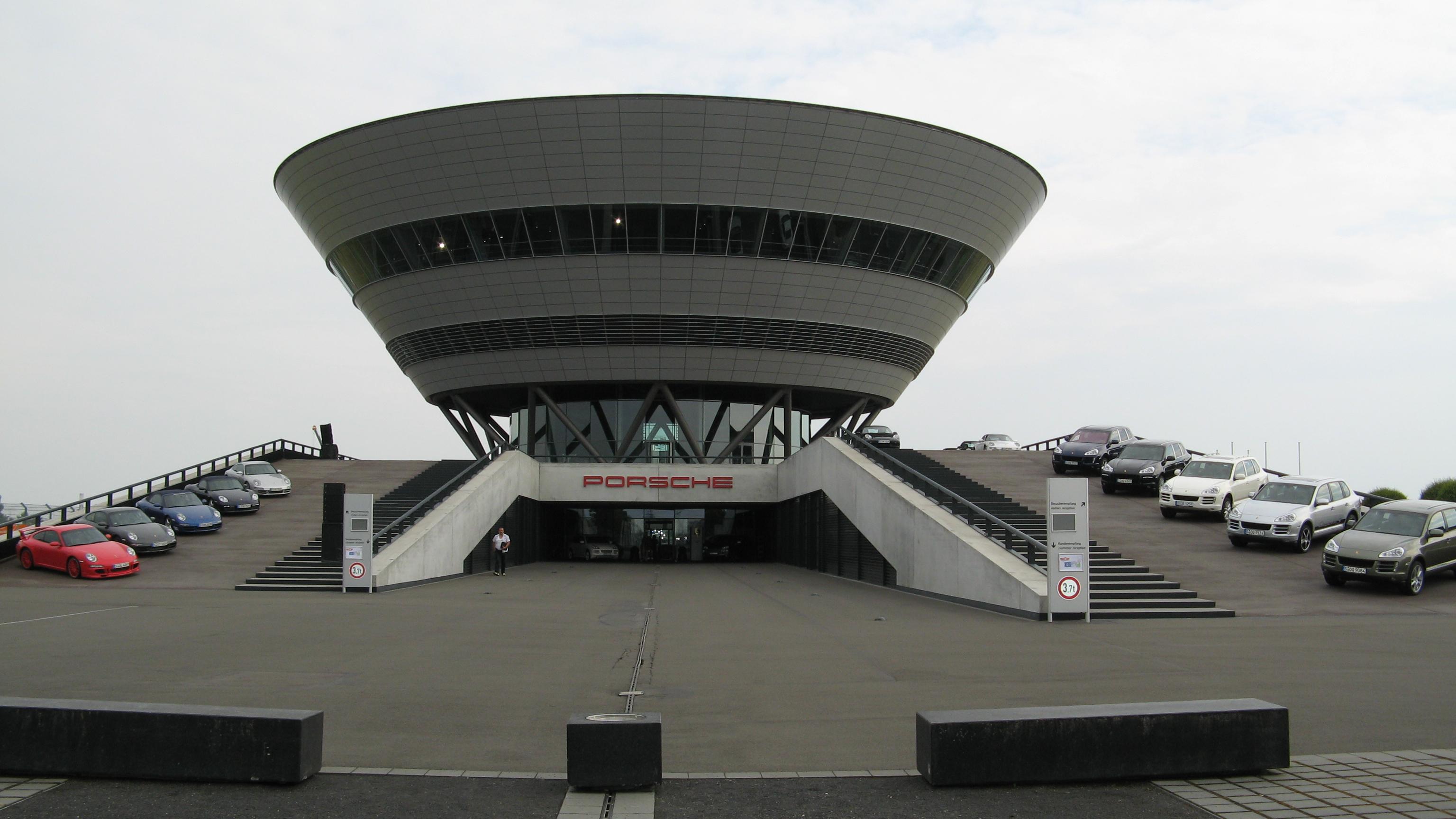 File Porsche Leipzig Kundenzentrum Jpg Wikimedia Commons