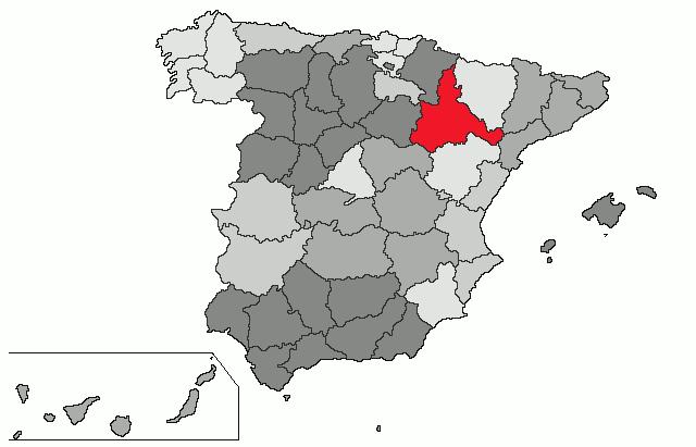 mapa de espanha zaragoza File:Provincia Zaragoza.png   Wikimedia Commons mapa de espanha zaragoza