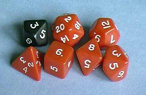 RPG kostky
