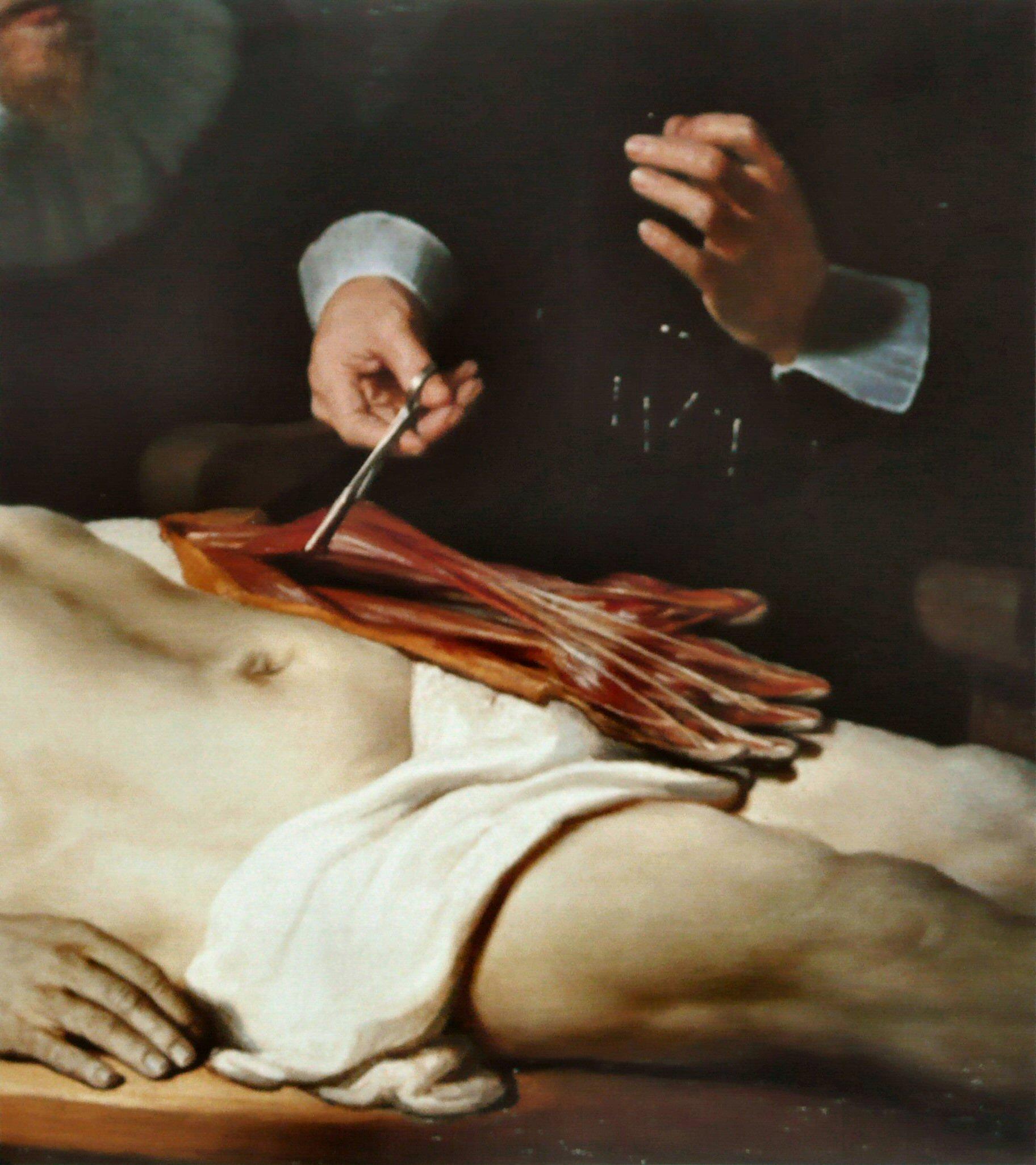 Lección de anatomía del doctor Nicolaes Tulp – Tuitearte