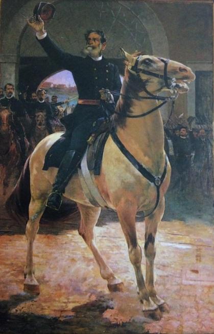 Deodoro da Fonseca, pintado por Henrique Bernardelli