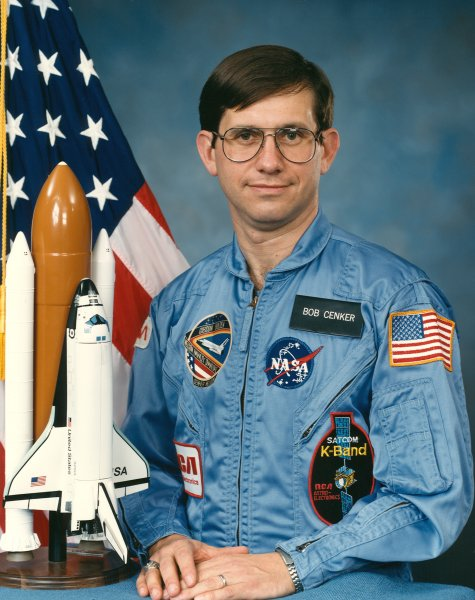 Astronaut Robert Cenker, NASA photo Source: Wikipedia (www.jsc.nasa.gov unavailable November 2019) Robert_Cenker.jpg