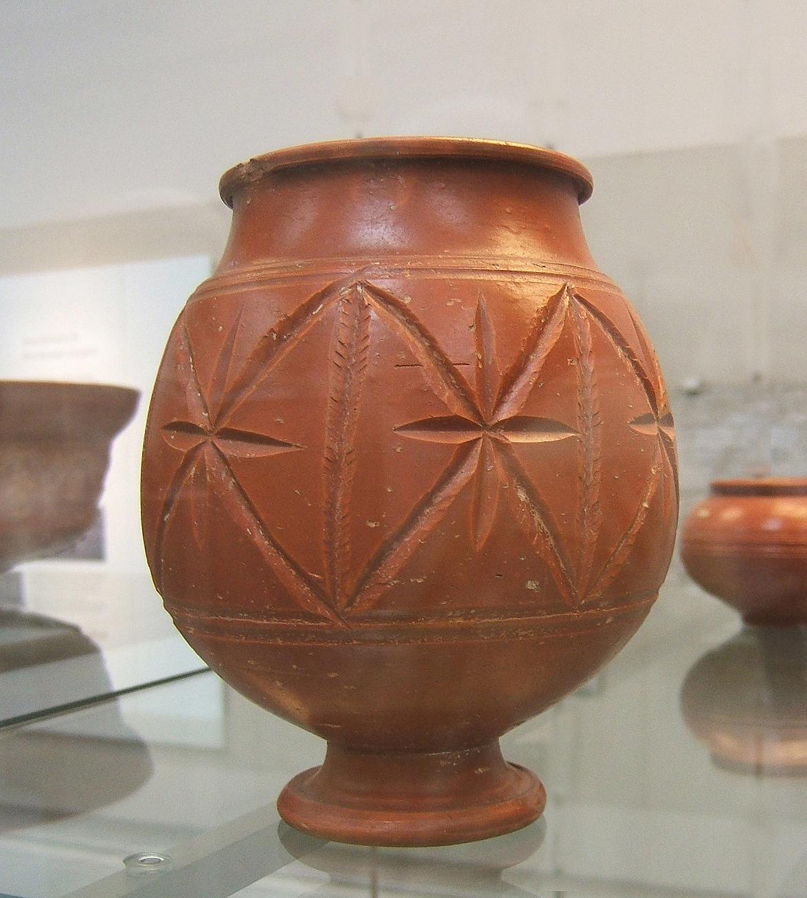 toscana estilo rstico cermica de la terracota urnas de cermica jarrones de cermica italiana