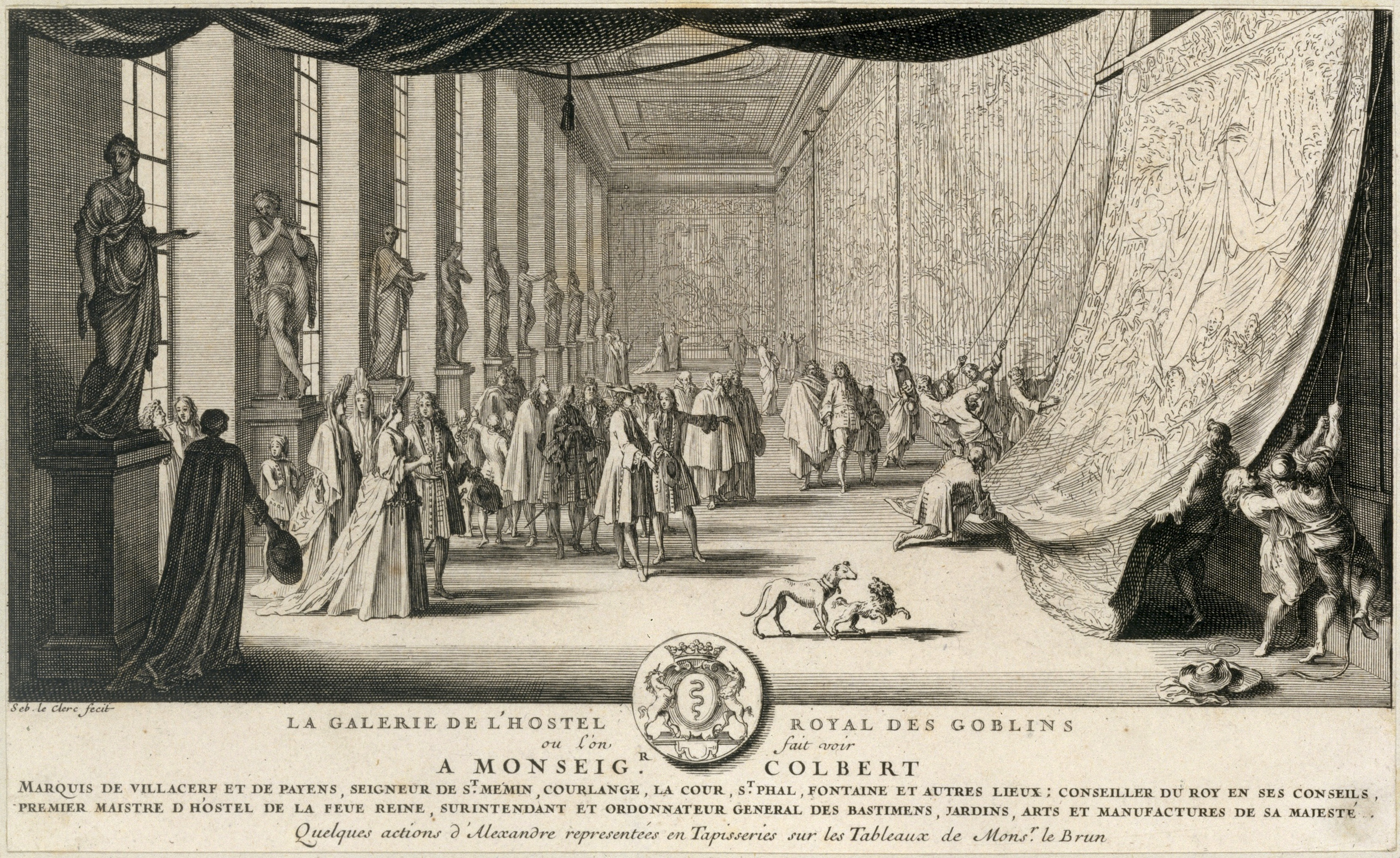 File:Sébastien Leclerc I, Colbert Visiting the Gobelins, ca. 1665.jpg