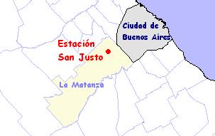 San Justo Mapa Estaci%C3%B3n