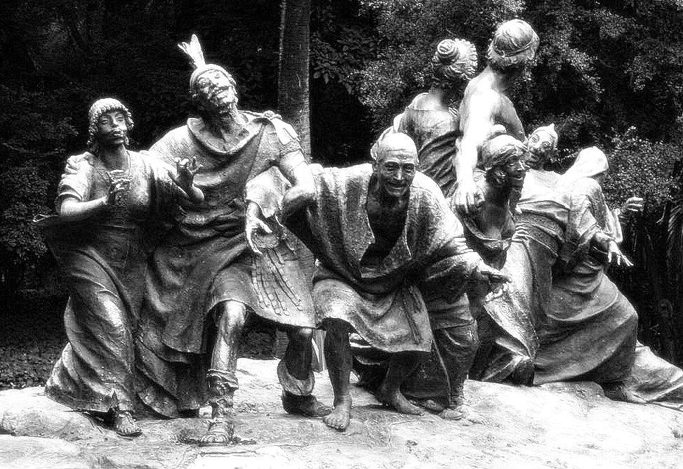 Saturnalia - a sculpture