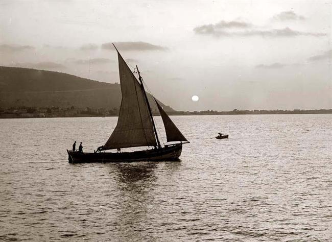 Sea of Galilee Boat 1898