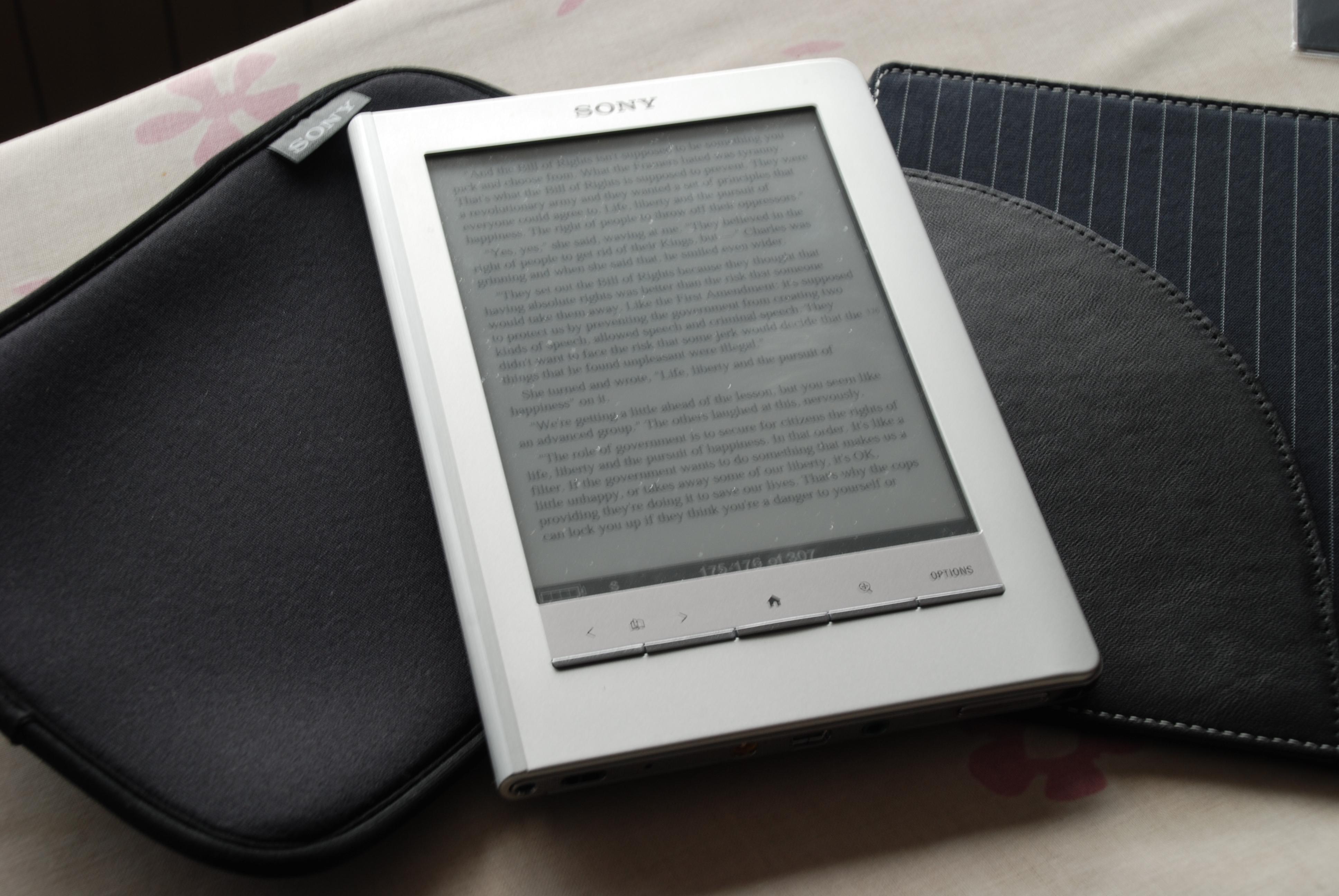 sony ebook reader prs 300 manual