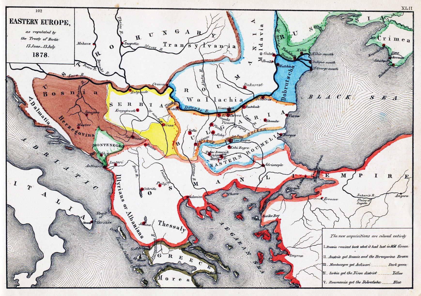 Southeastern Europe after the Congress of Berlin