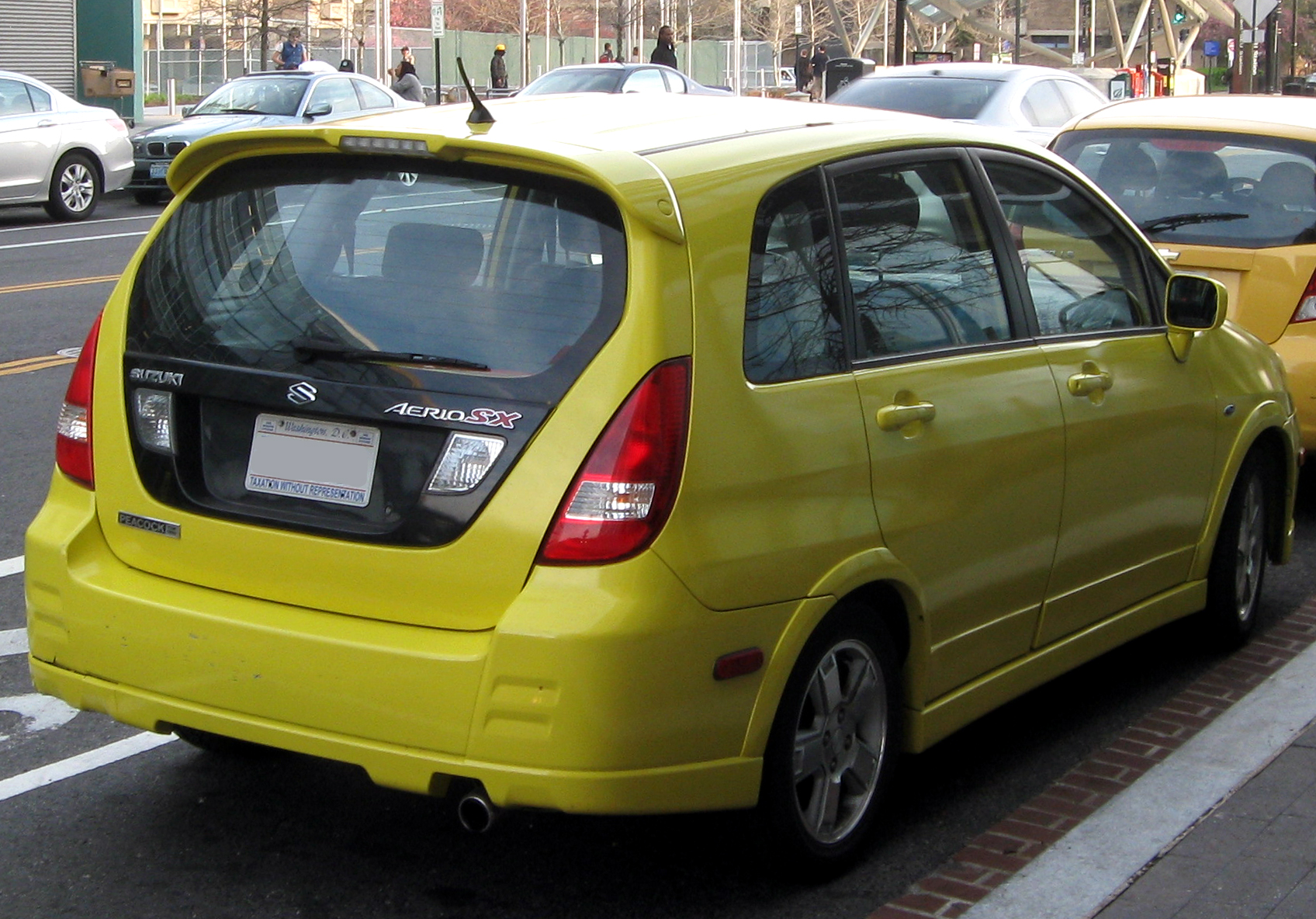 file suzuki aerio sx 04 10 2011 rear jpg wikimedia commons https commons wikimedia org wiki file suzuki aerio sx 04 10 2011 rear jpg