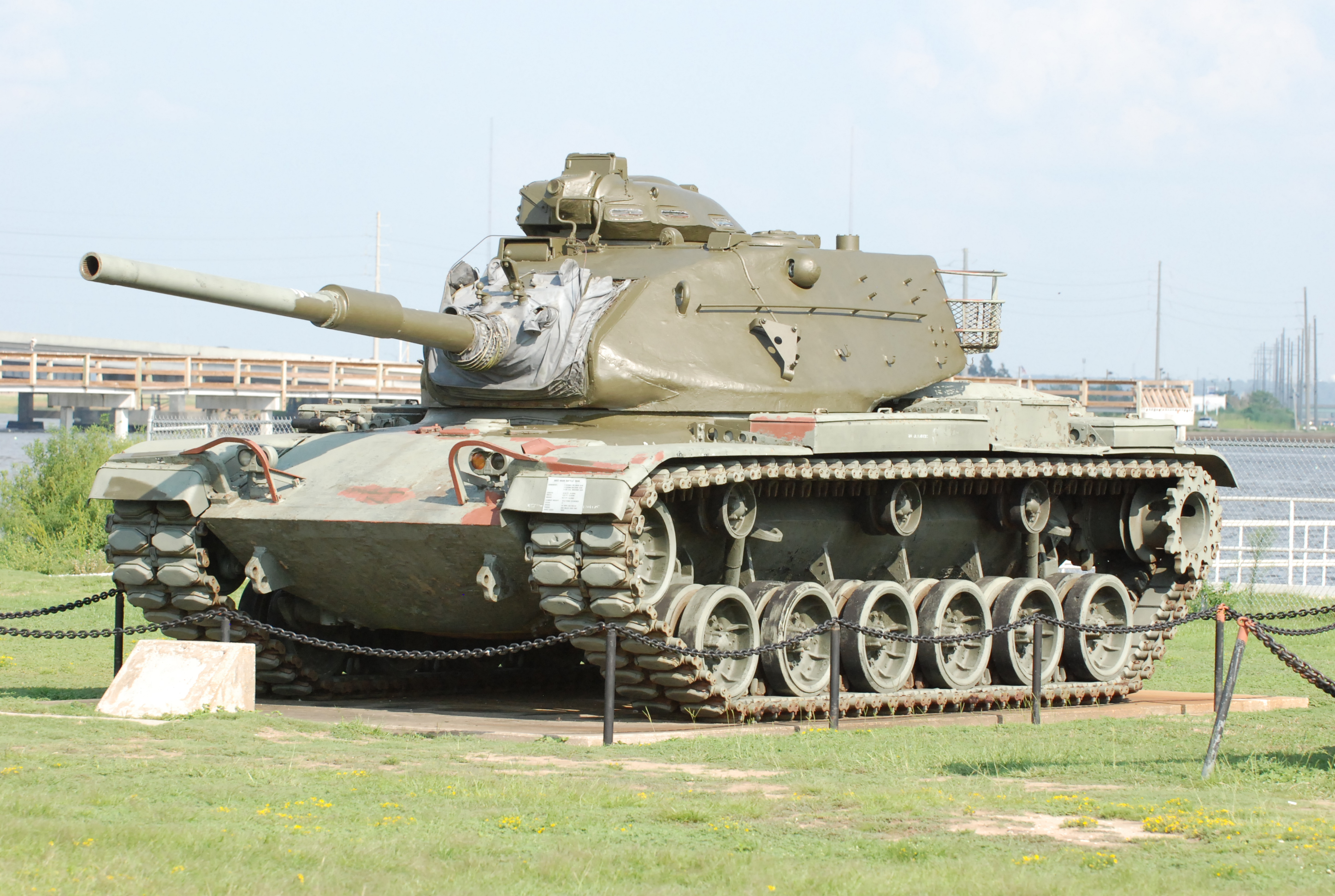 Description tanks at the uss alabama - mobile, al - 002