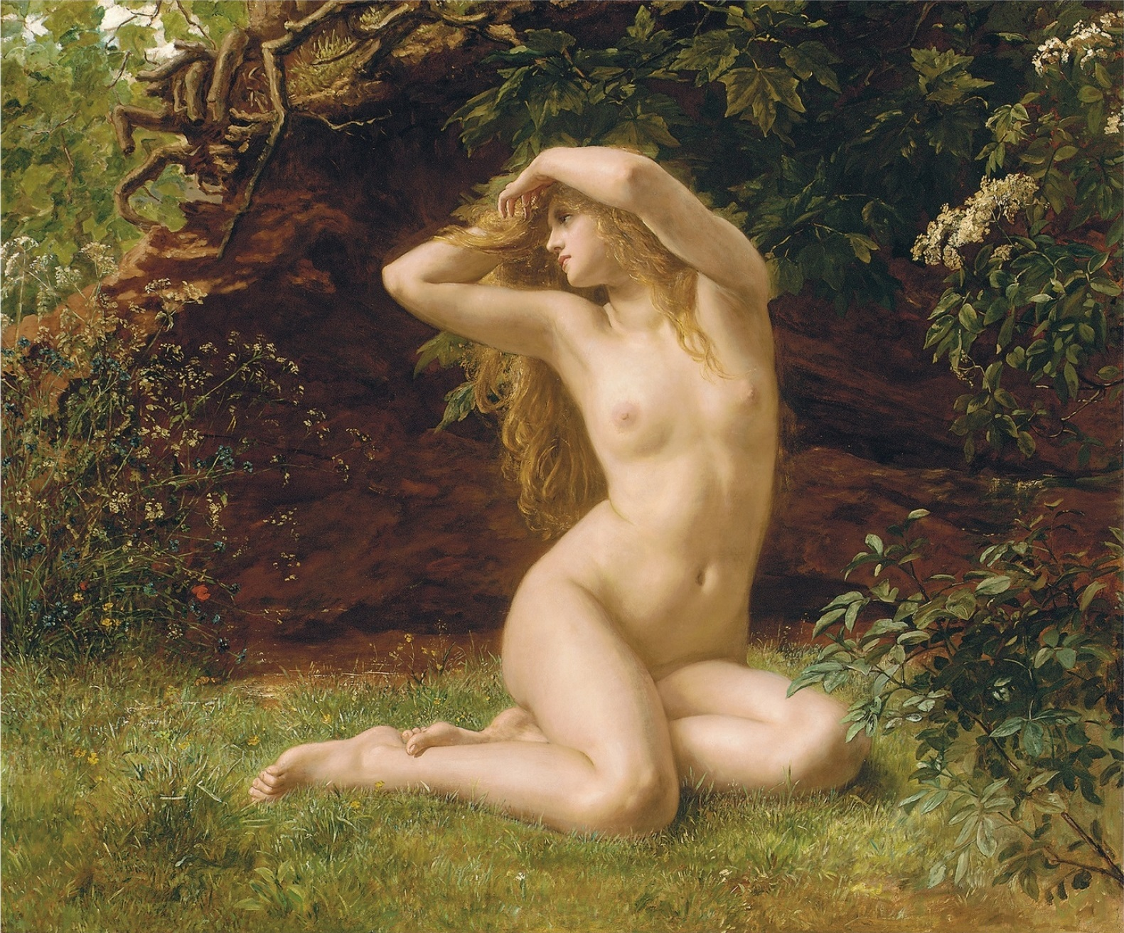 Valentine Cameron Prinsep, The First Awakening of Eve