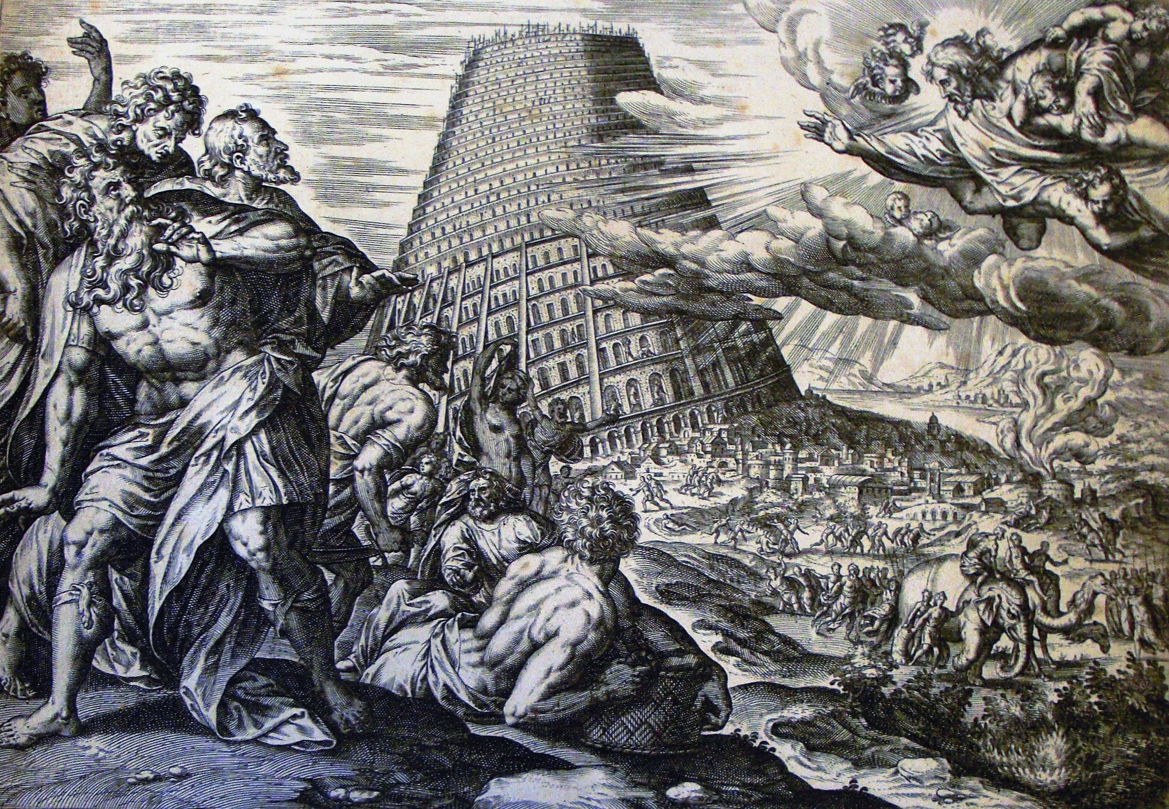 "an interpretation of genesis 111 9 story about the tower of babel With reference to genesis 11: 1-9 and its history of interpretation, the  of the  table in genesis 10 and the story of the tower of babel in genesis 11"" and st."