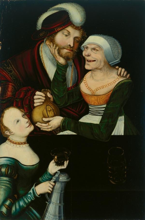 File:The Procuress by Lucas Cranach the Elder, Tbilisi Museum of ...