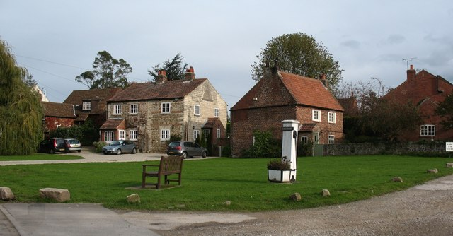The green, Coneythorpe - geograph.org.uk - 1027093