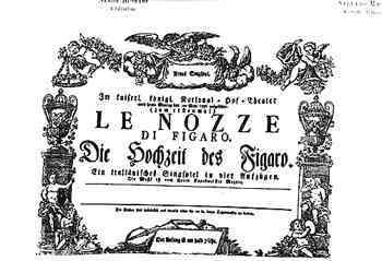 Nella foto: locandina della prima rappresentazione.