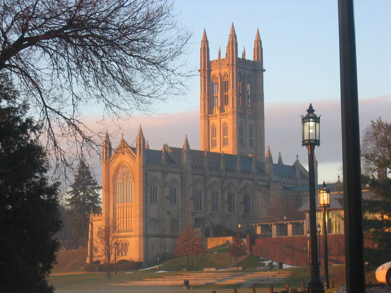 Trinity College Chapel  Hartford
