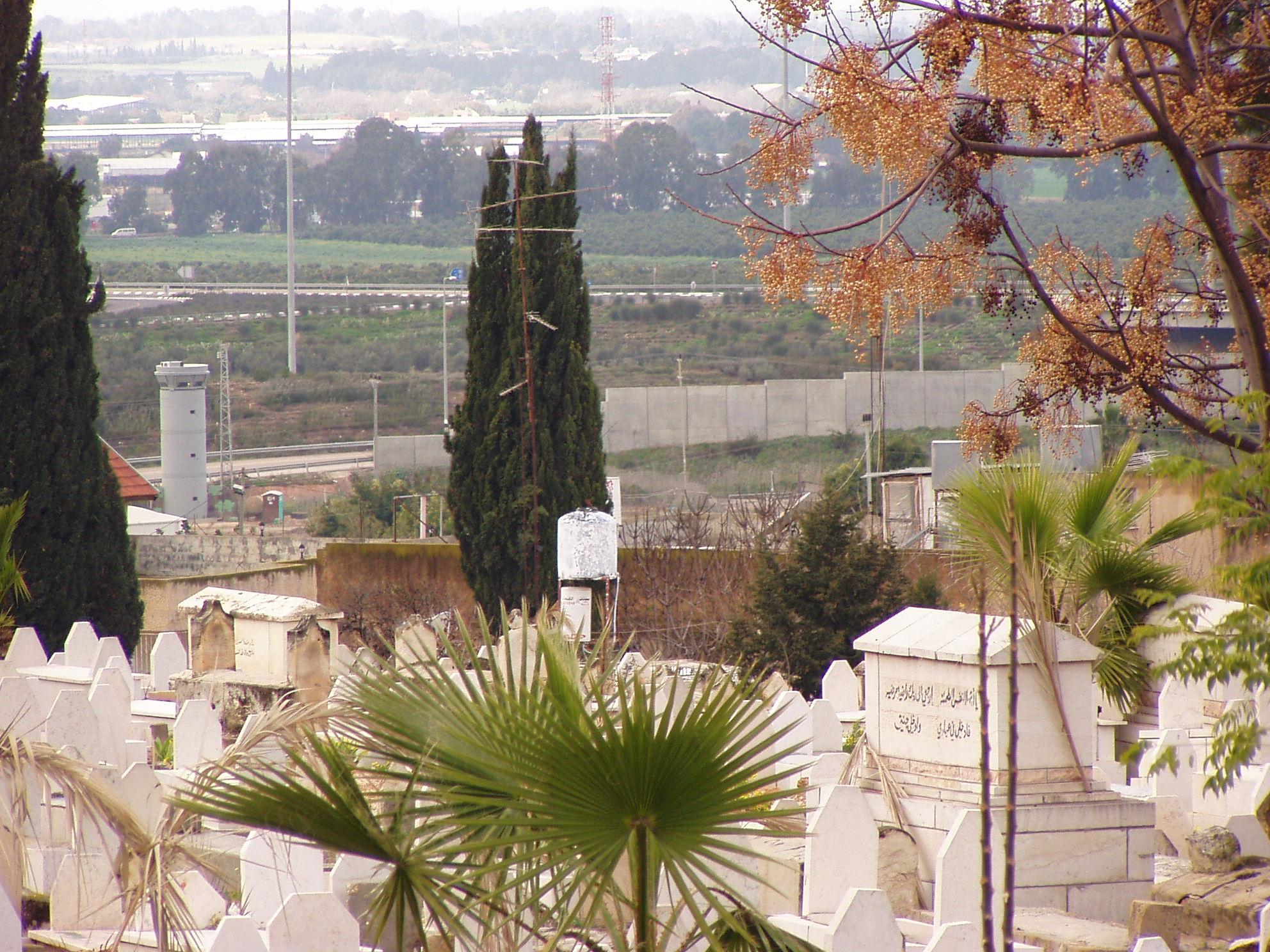 File Tulkarm Qalqilya Cemetery Jpg Wikimedia Commons