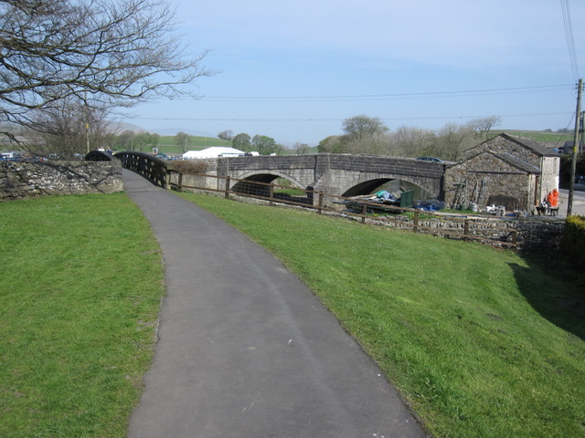 Two bridges in Horton in Ribblesdale - geograph.org.uk - 1276126