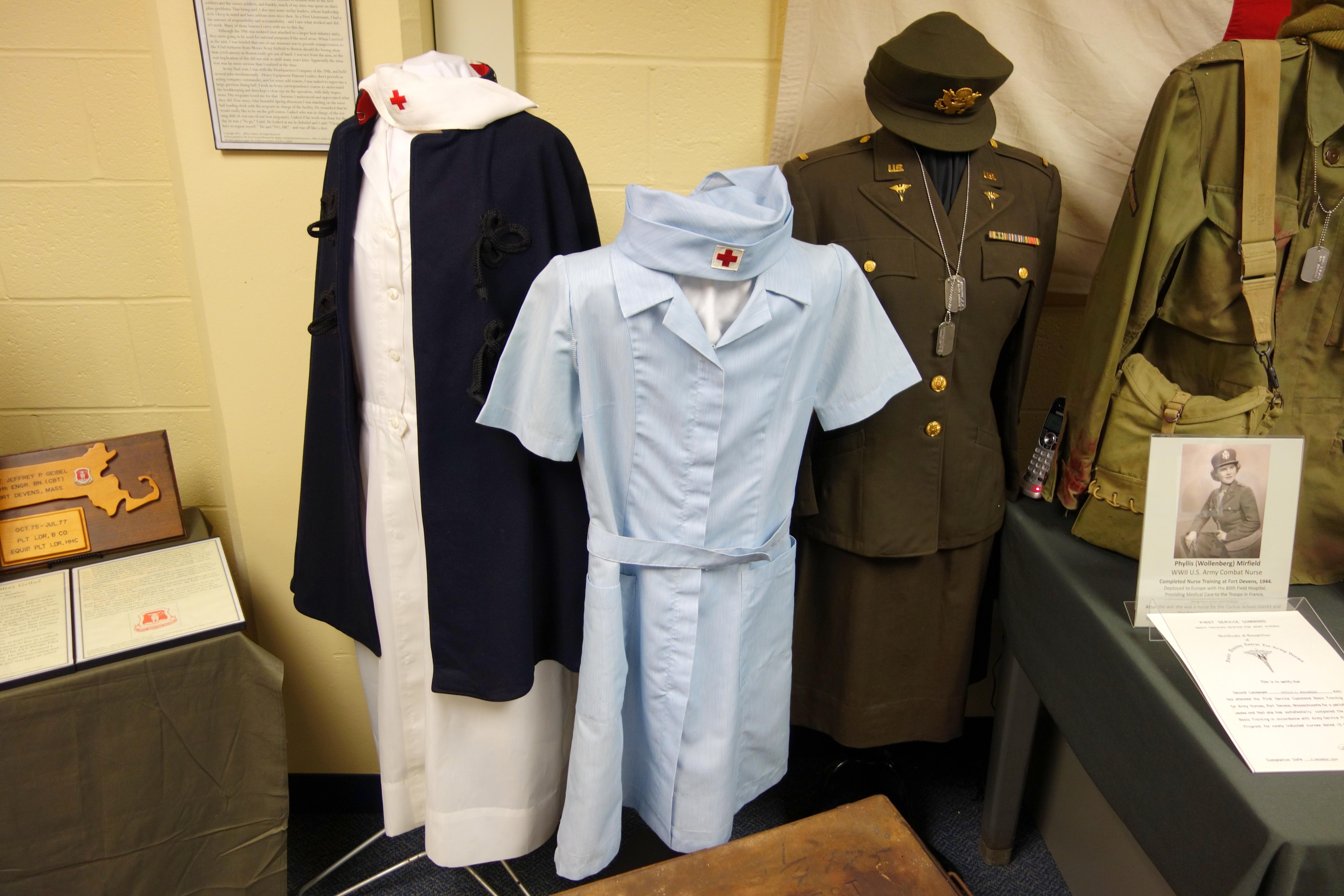 army nurse outfit