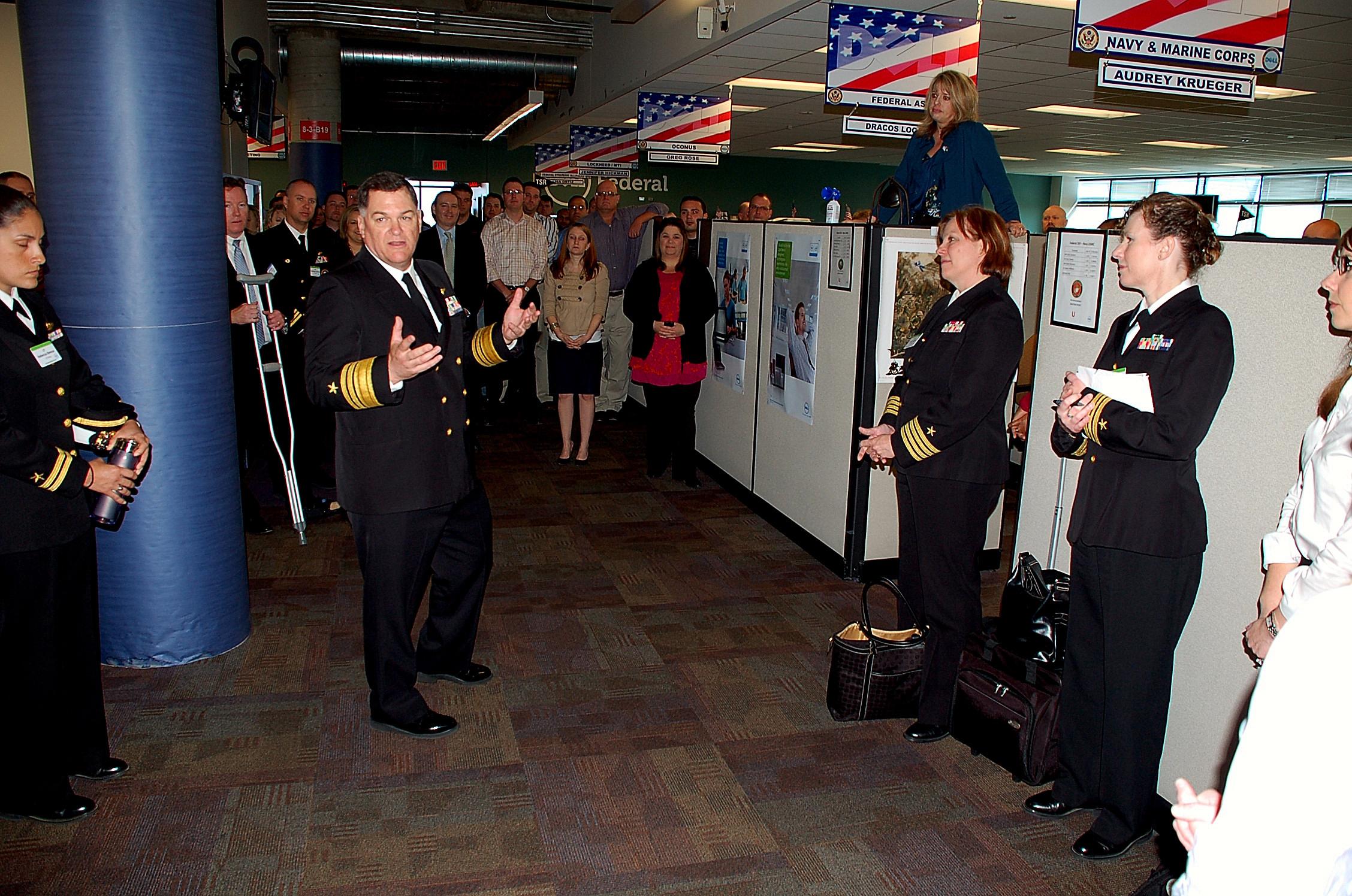 Fileus Navy 110324 N 6778p 035 Vice Adm Mark Skinner Speaks To