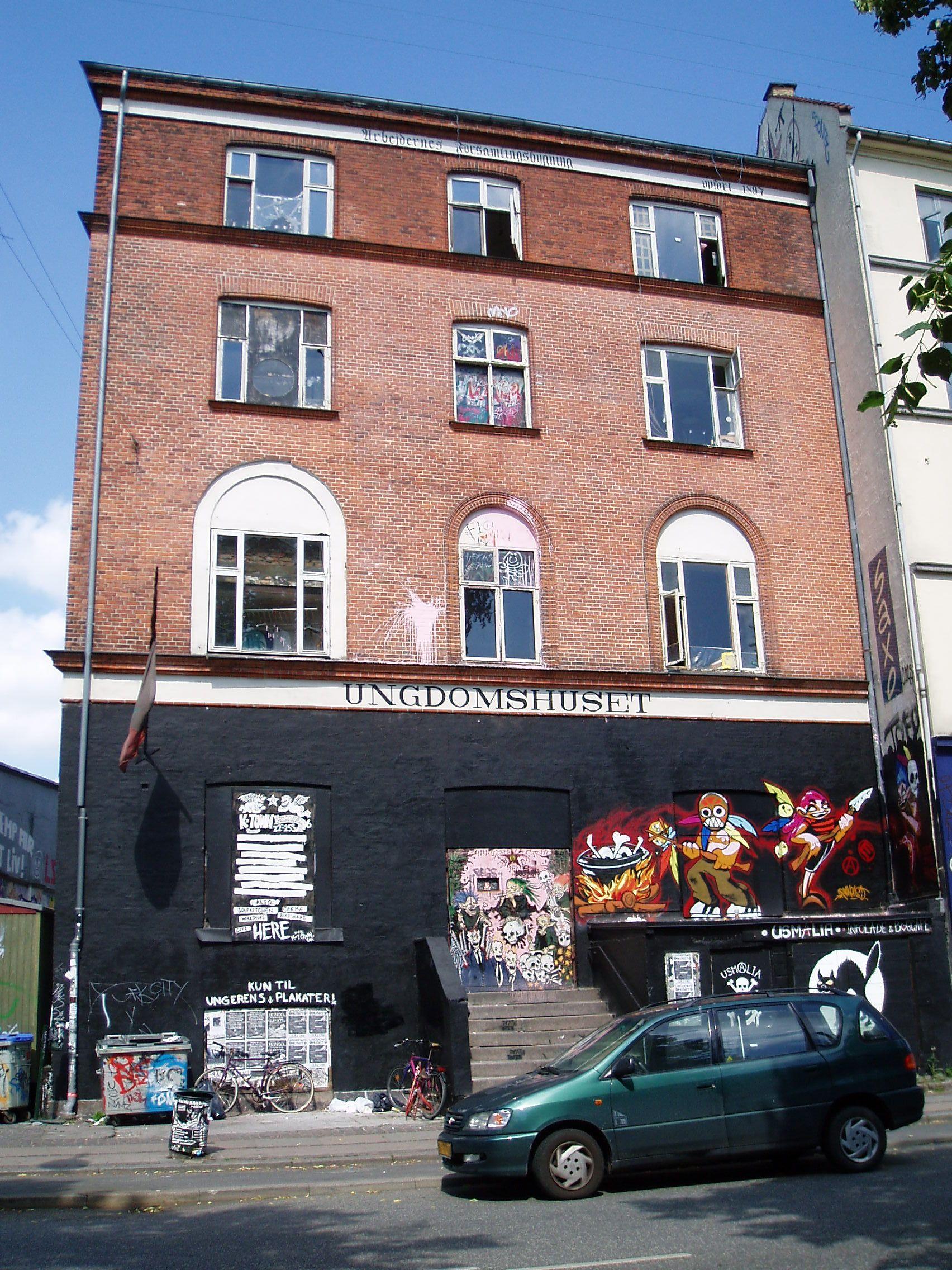 Das Ungdomshuset in Kopenhagen