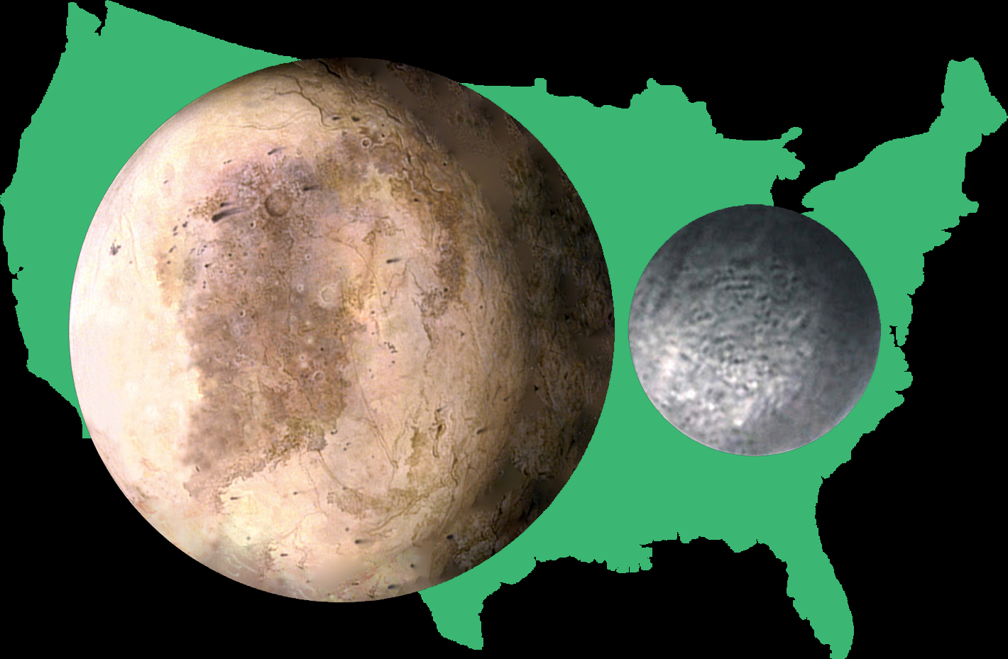 pluto planet size - photo #8