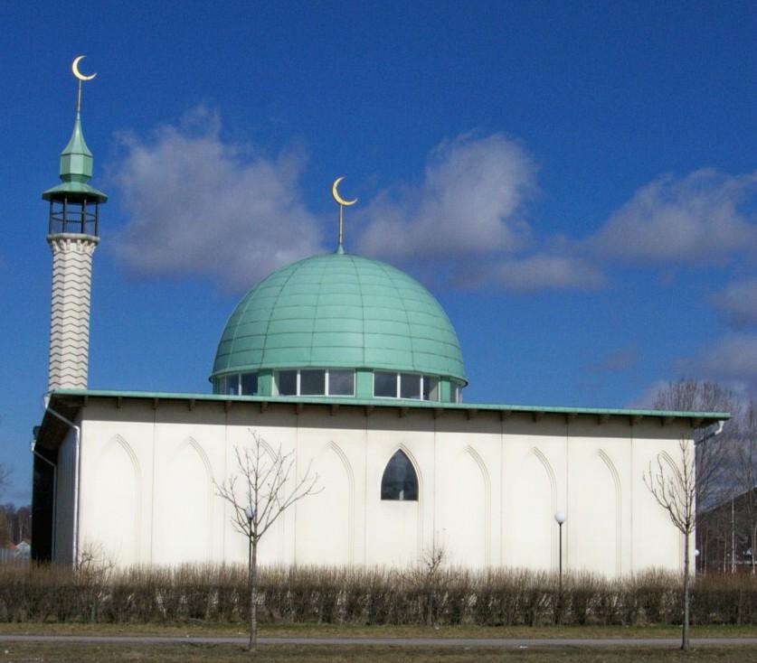 Die Moschee von Uppsala. (Quelle: Public Domain via Wikimedia Commons)