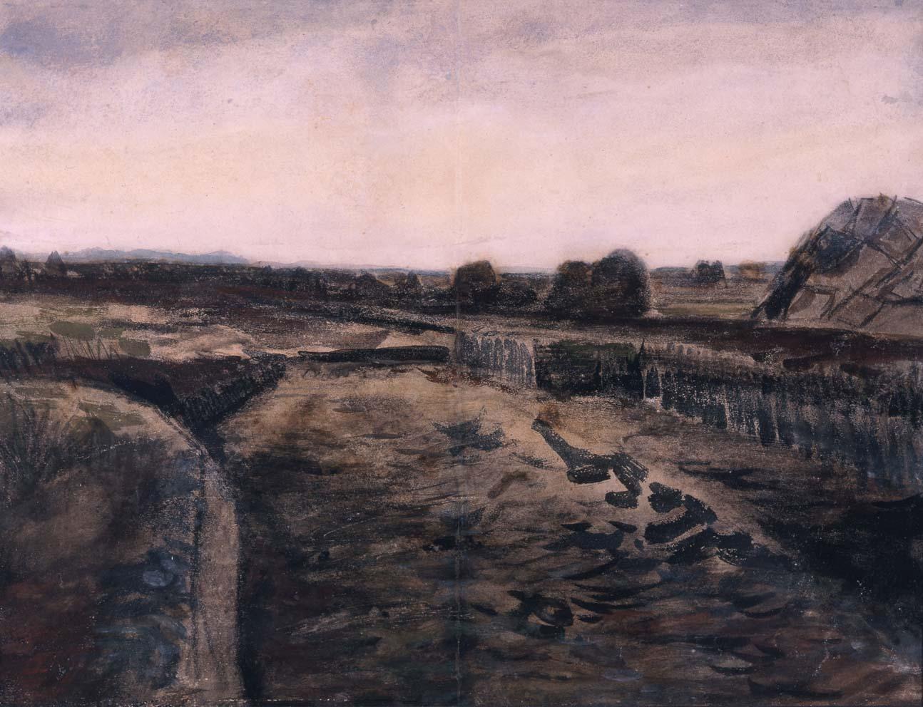 File Van Gogh Paisaje En Drenthe 1883 Jpg Wikimedia