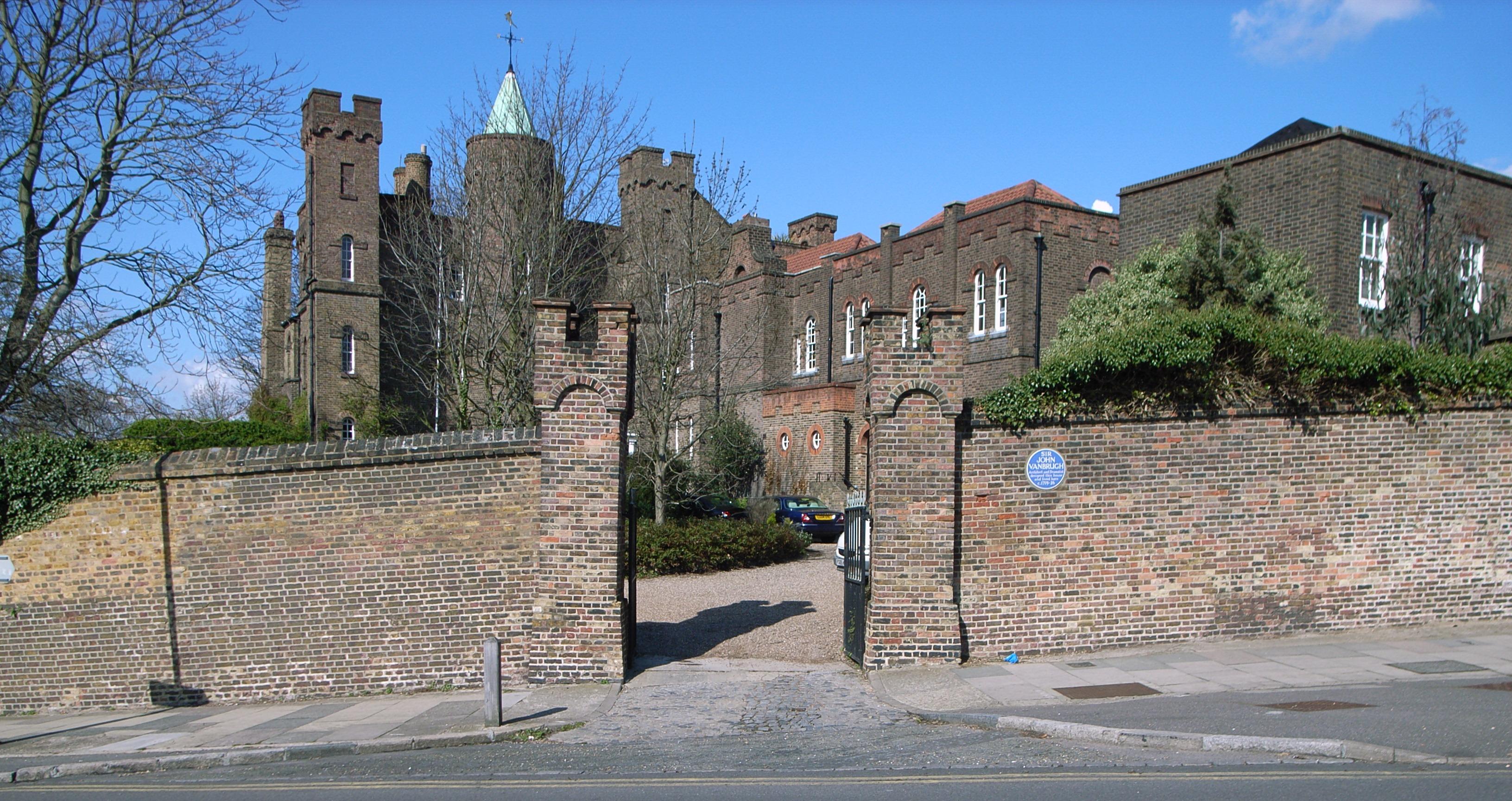 Image result for Vanbrugh Castle