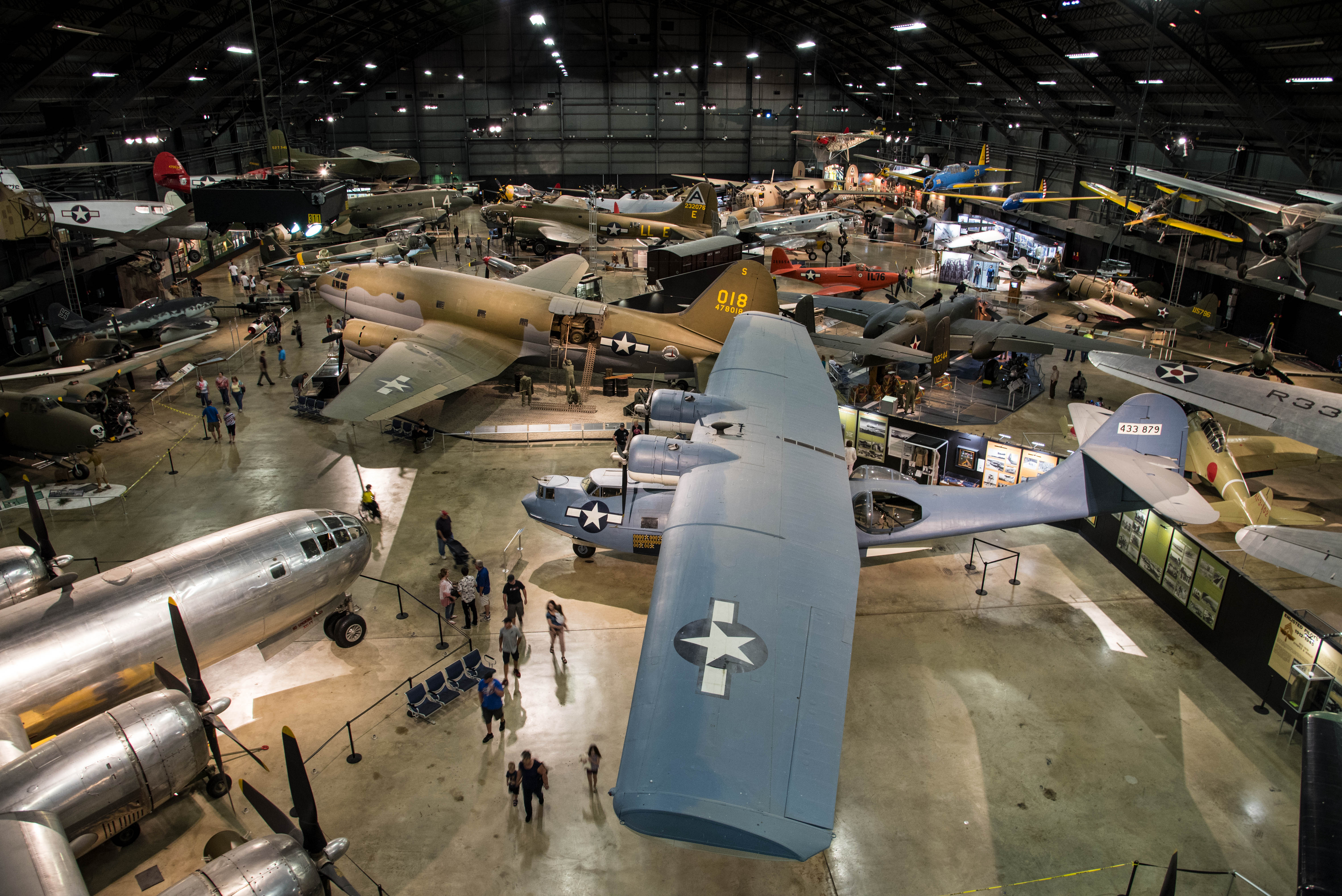 FileWWII Gallery At The National Museum Of The US Air Forcejpg - Us air force museum