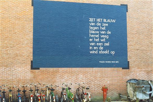 Wonderbaar Bestand:Willem Hussem - Zet het blauw.jpg - Wikipedia FT-14