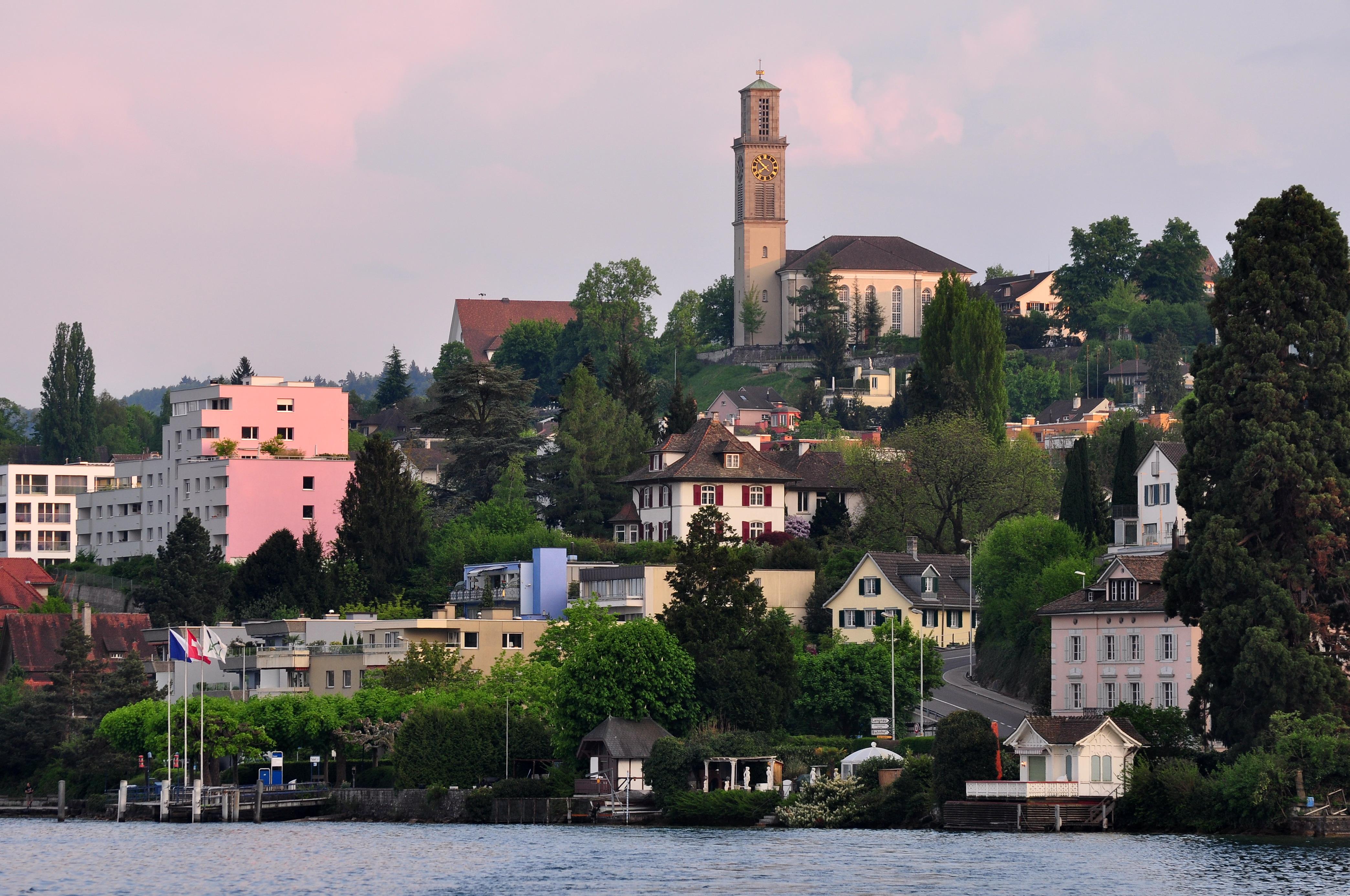 Thalwil Switzerland  city images : Description Zürichsee Thalwil Schifflände IMG 0210