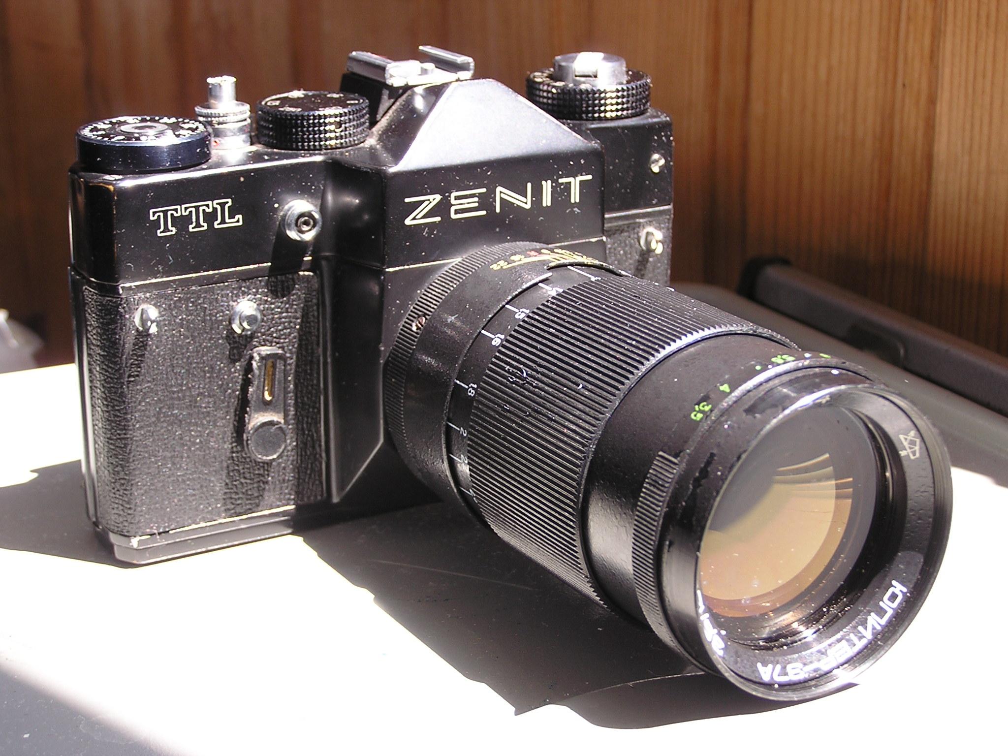 Camera Zenit TTL