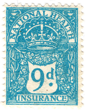 English: 1920 British National Health Insuranc...