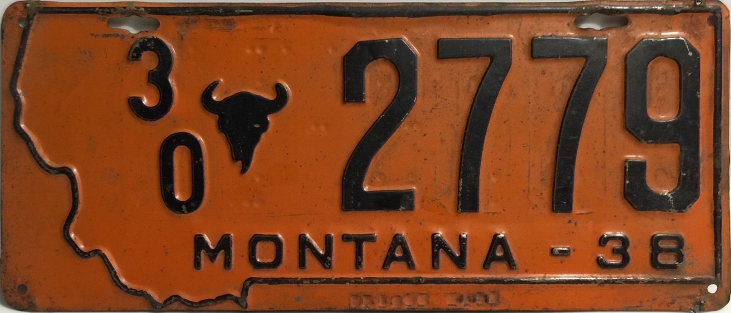 File:1938 Montana license plate.jpg - Wikimedia Commons