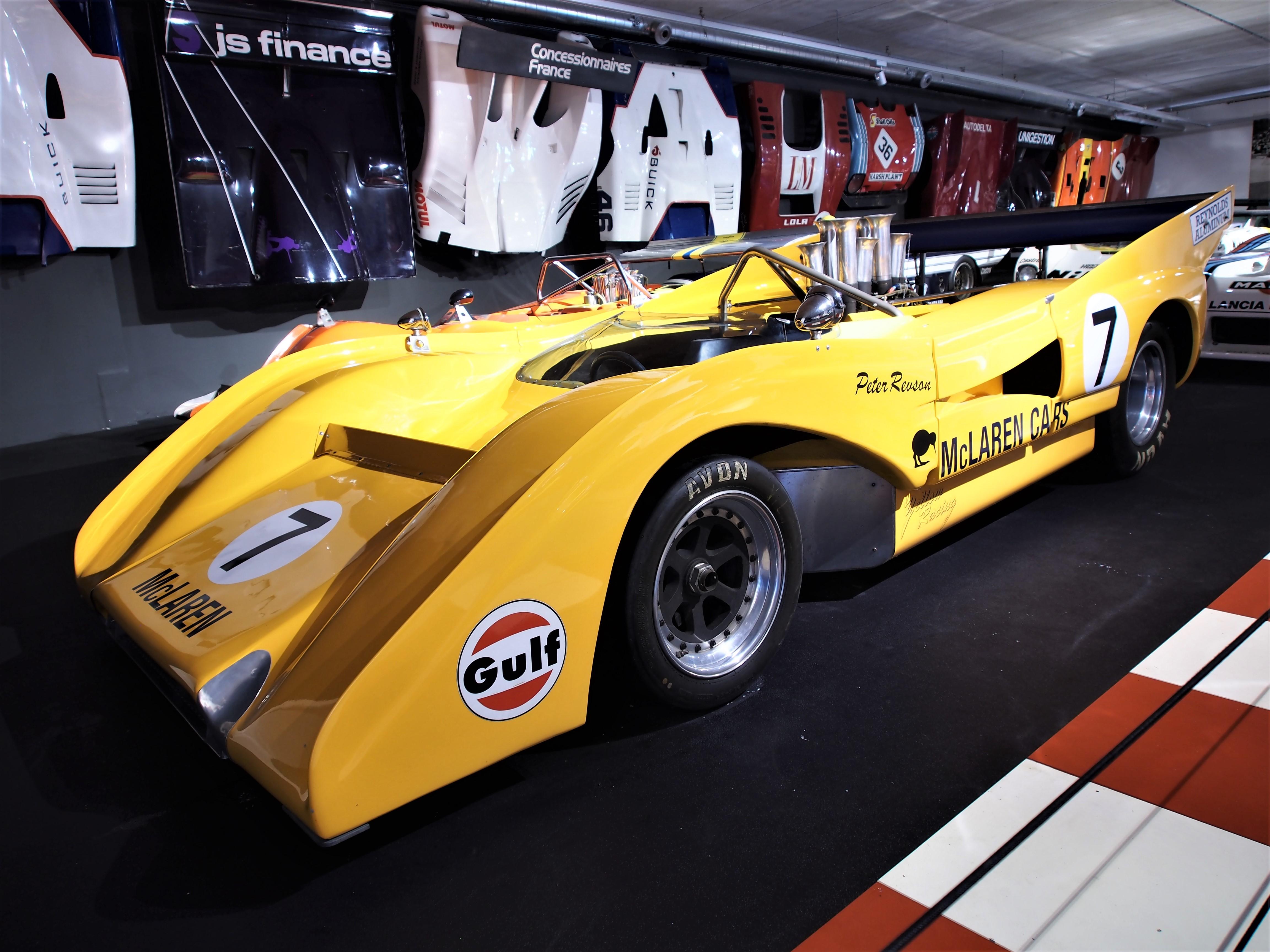 File:1971 McLaren M8F 8 1 litre 8 cylinder 750hp photo 2 JPG